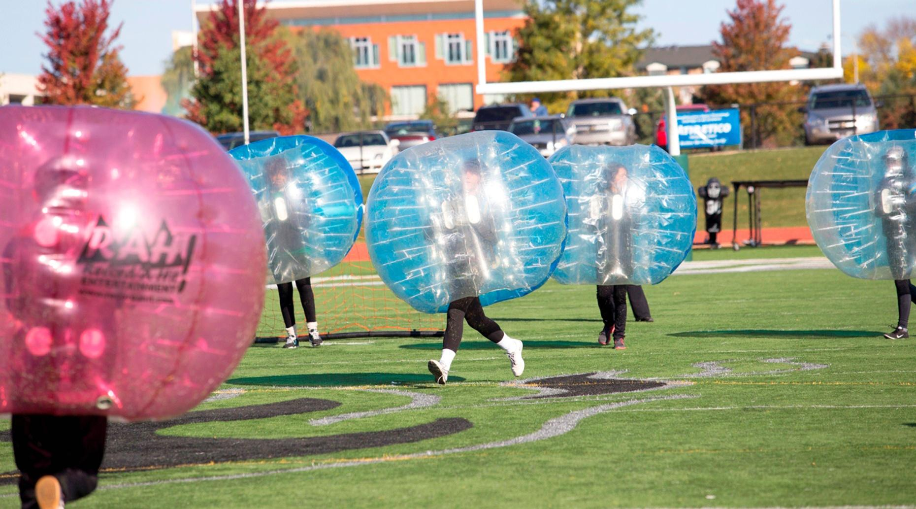 One-Hour Bubble Soccer Package in Los Angeles