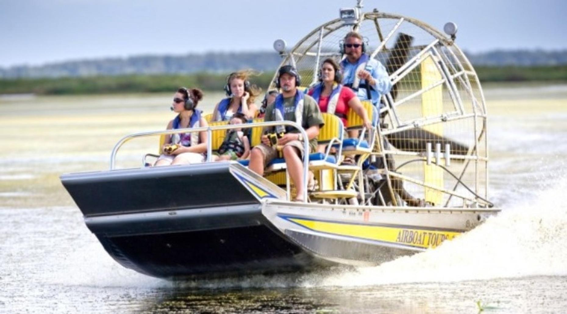 Everglades Airboat Tour & Alligator Show in Miami