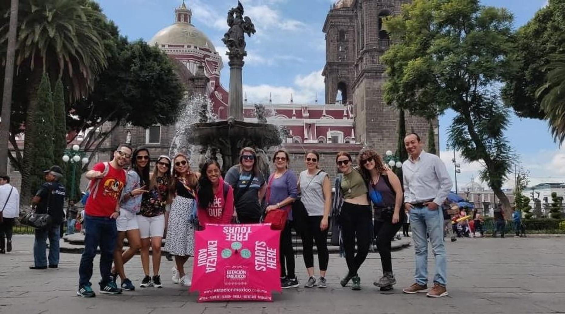 Puebla City Walking Tour in Spanish