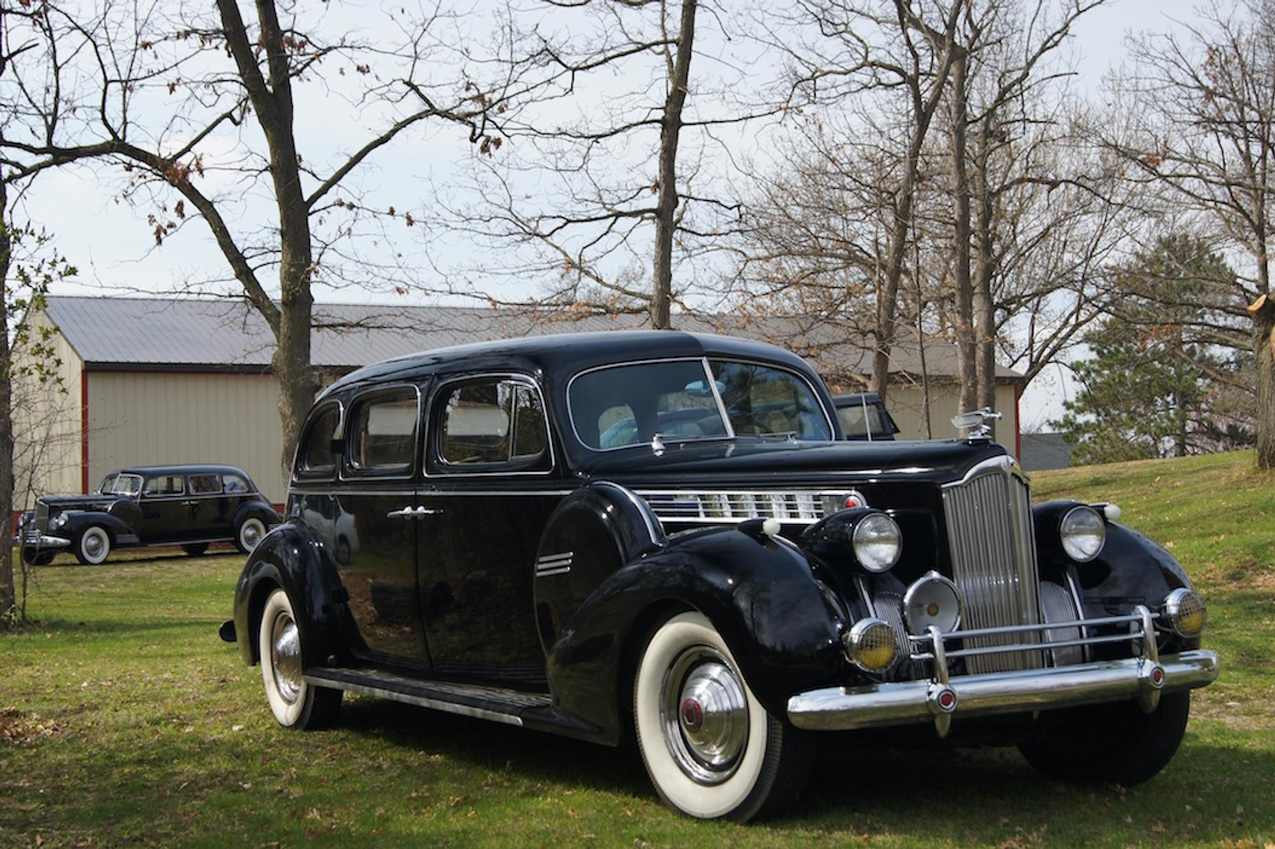 Guided Packard Limo Tour in Charlottesville