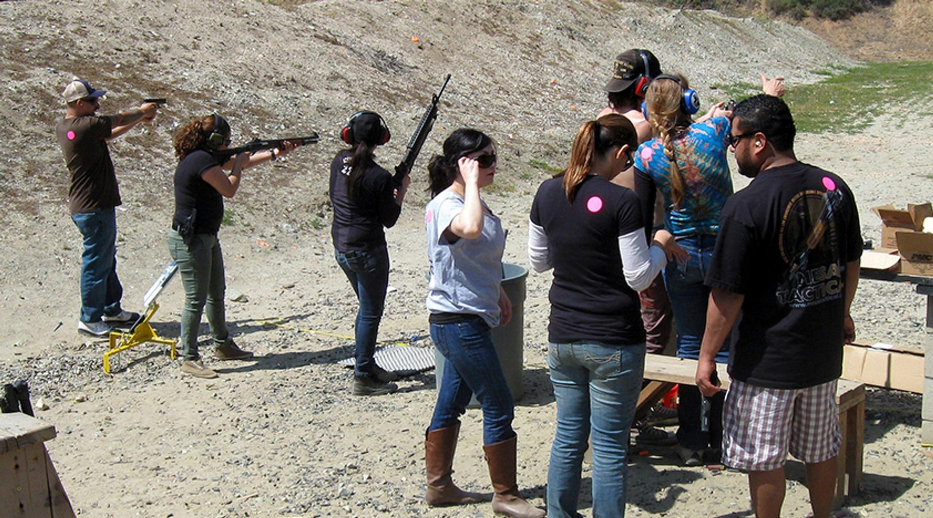 Basic First Steps Rifle Course in San Mateo