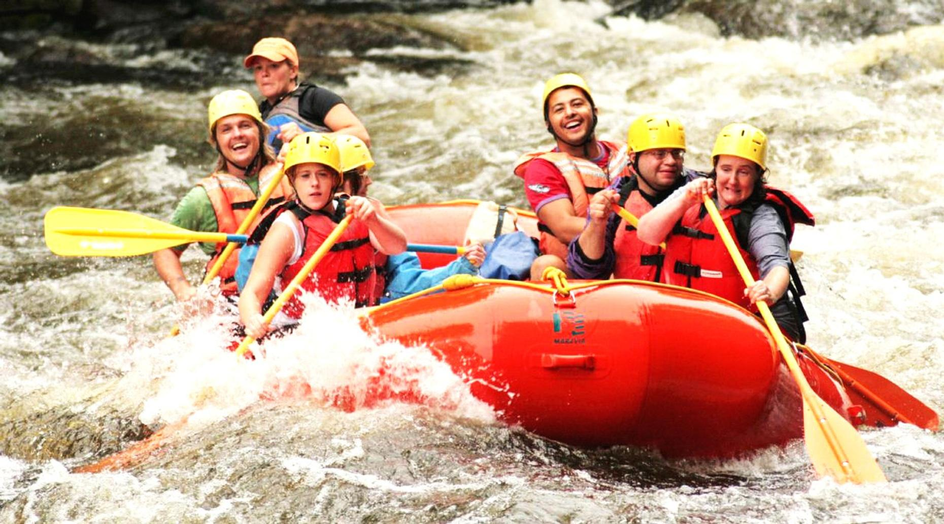 Snoqualmie River Intermediate Whitewater Rafting