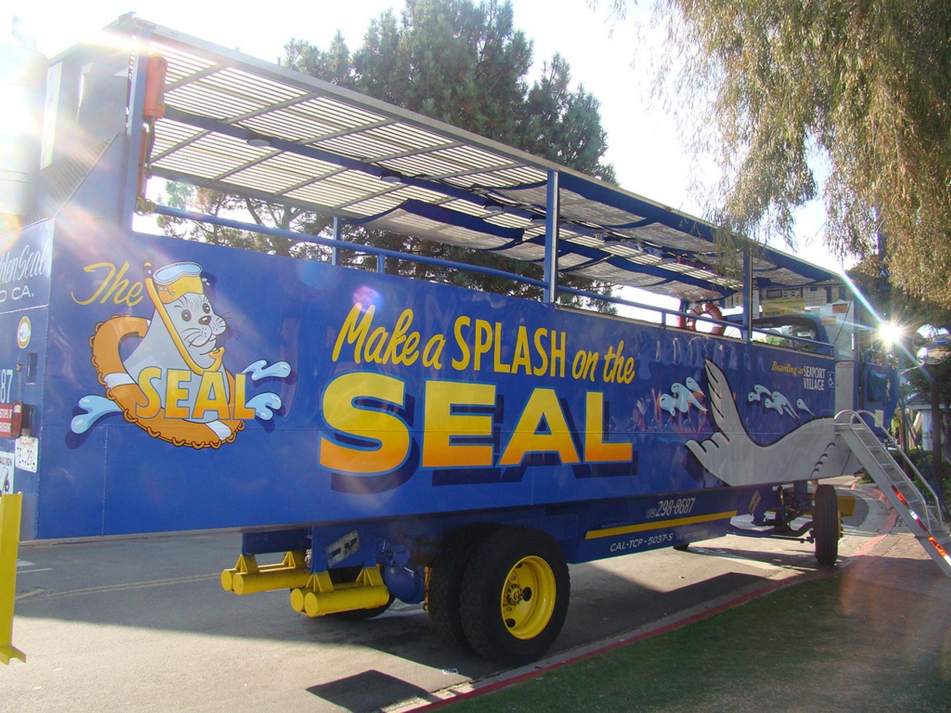 San Diego SEAL Trolley Tour