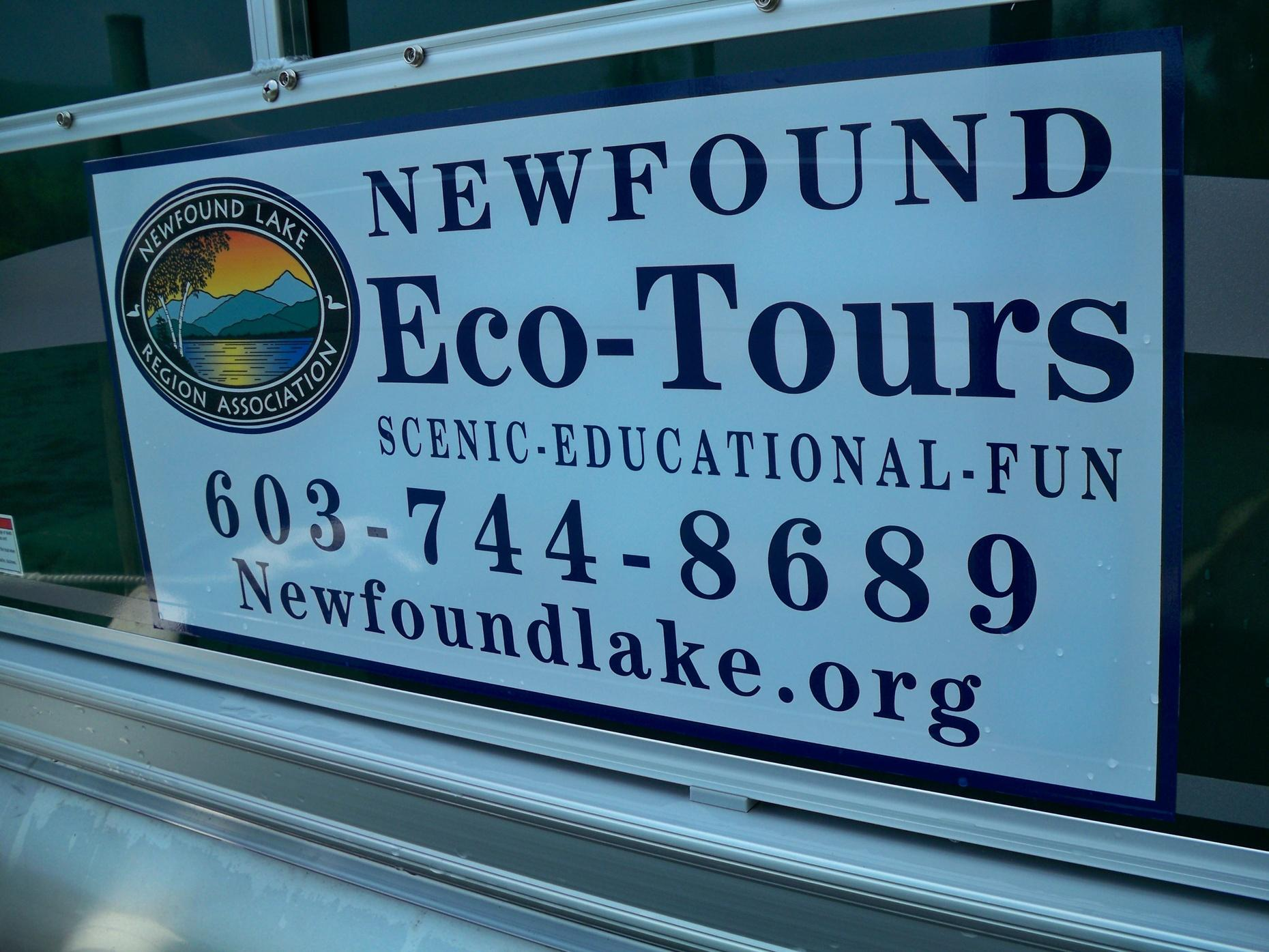 Guided EcoTour of Newfound Lake in Hebron