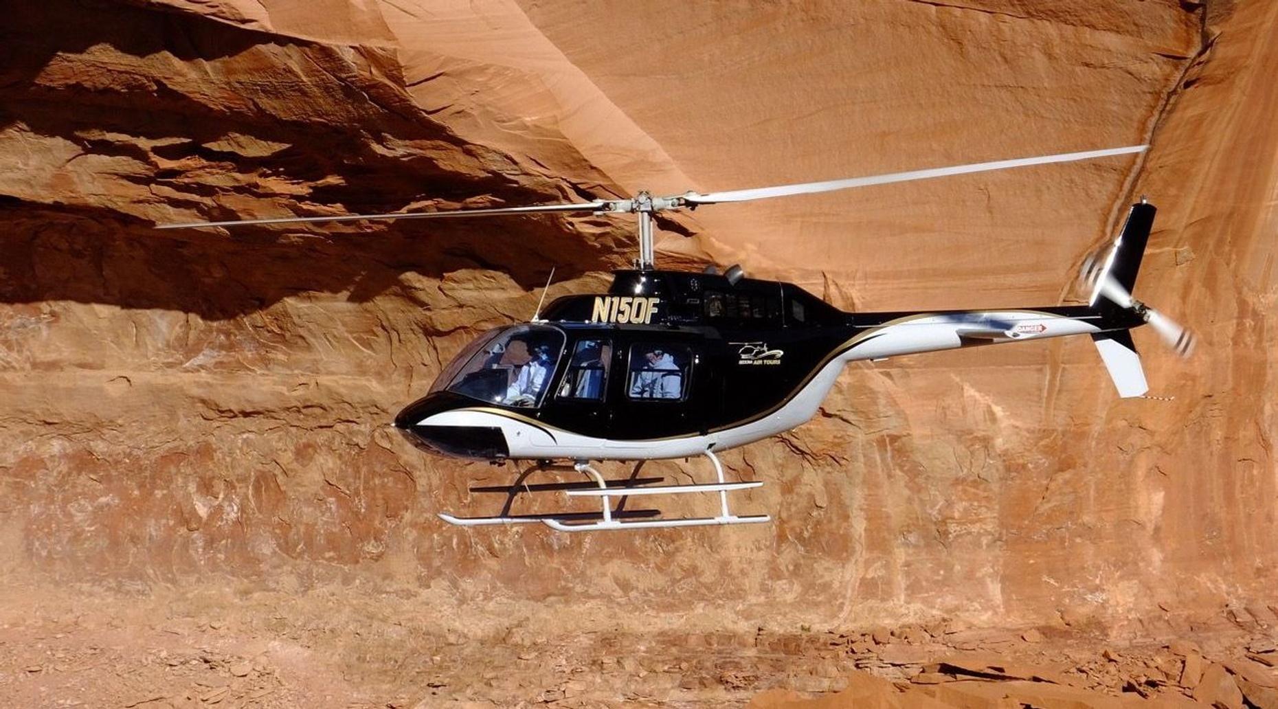 Sedona Bear Wallow Run Helicopter Tour