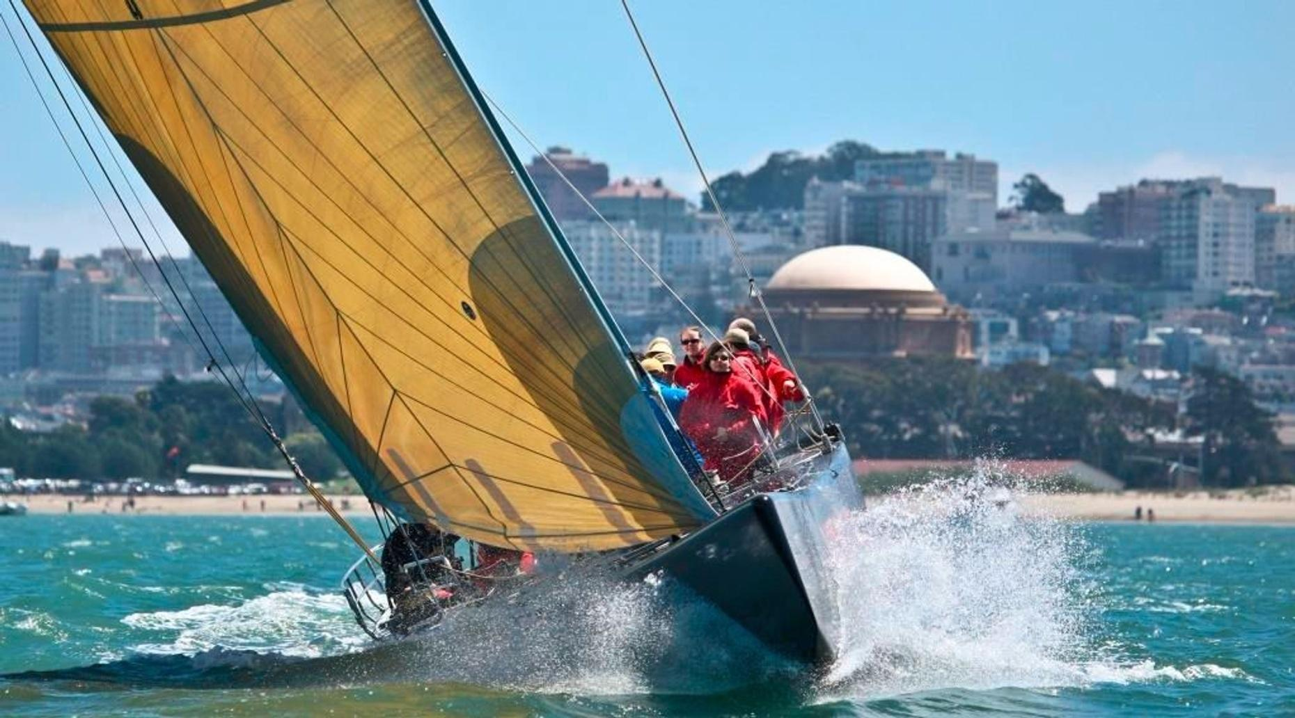 America's Cup Sailing Experience in San Francisco Bay