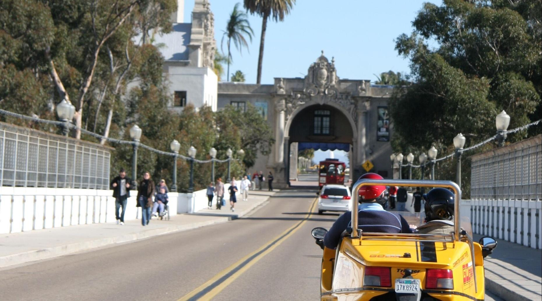 2-Hour Downtown and Balboa GoCar Tour
