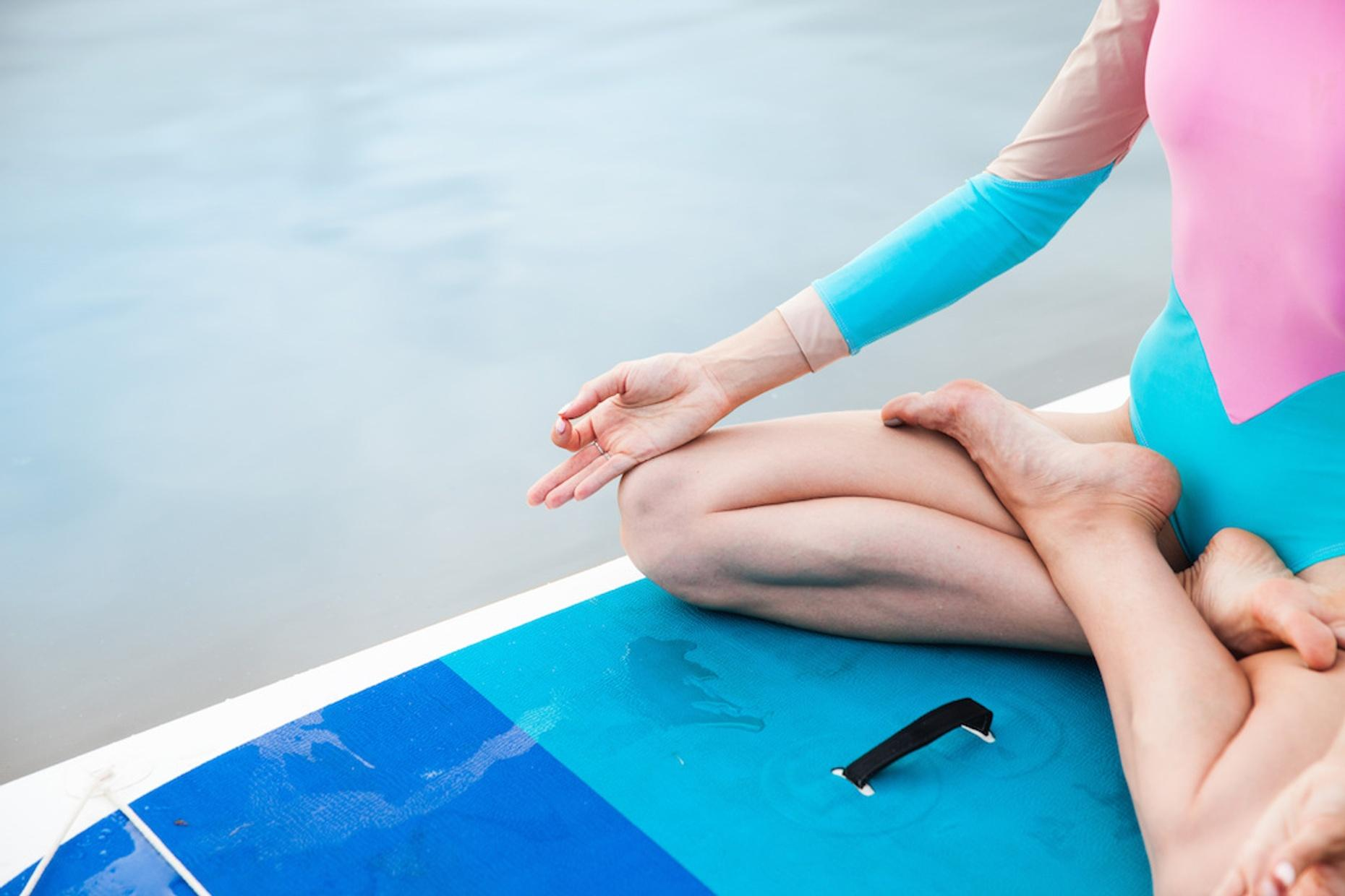 Stand-Up Paddleboard Yoga Class in Greensboro