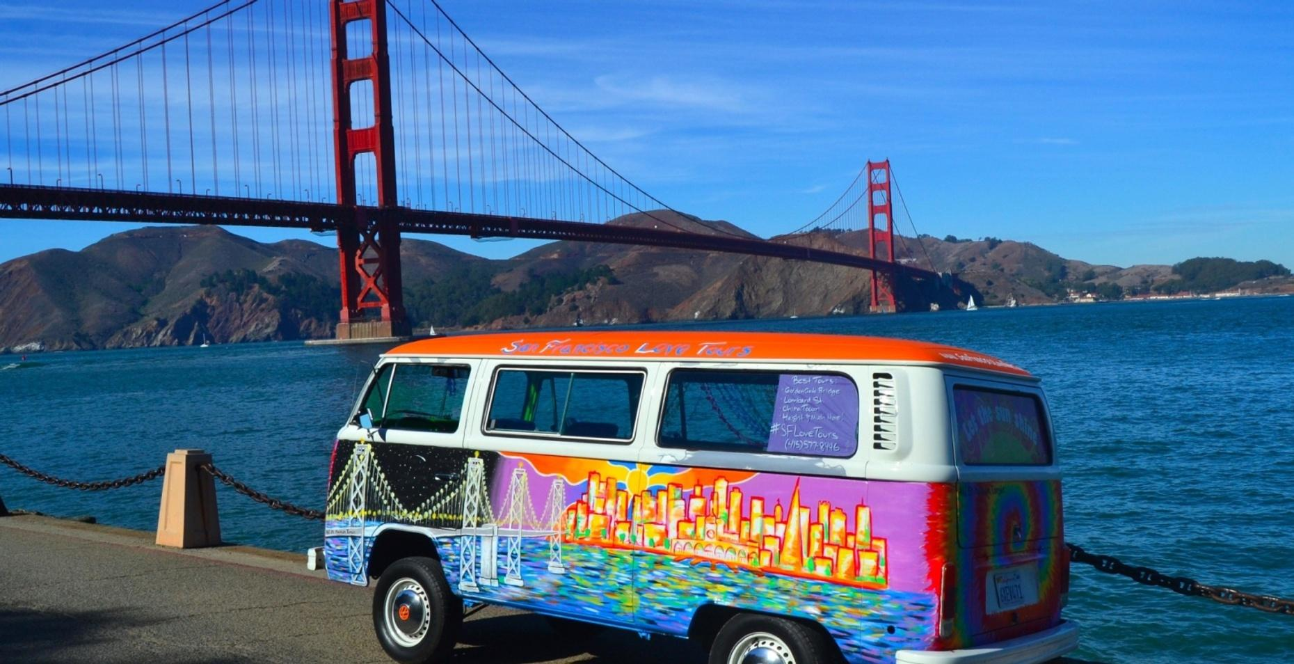 Volkswagen Bus Tour of San Francisco