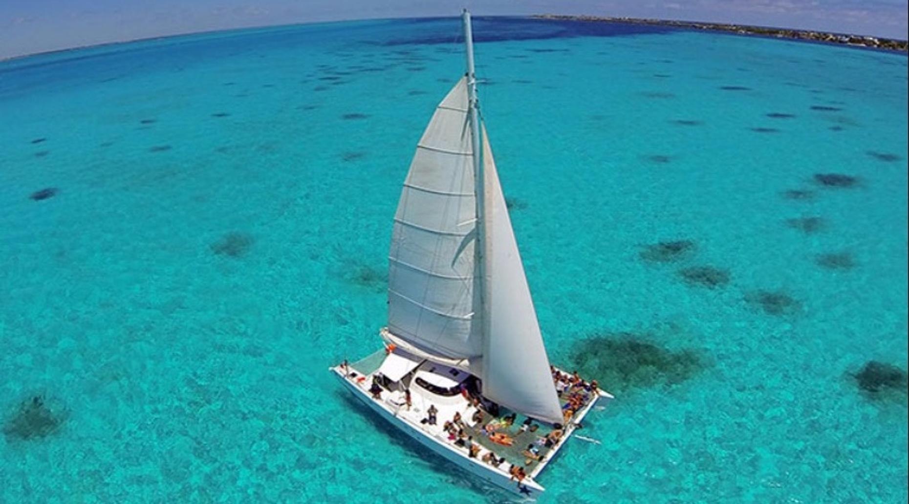 Isla Mujeres Catamaran Adventure from Cancun