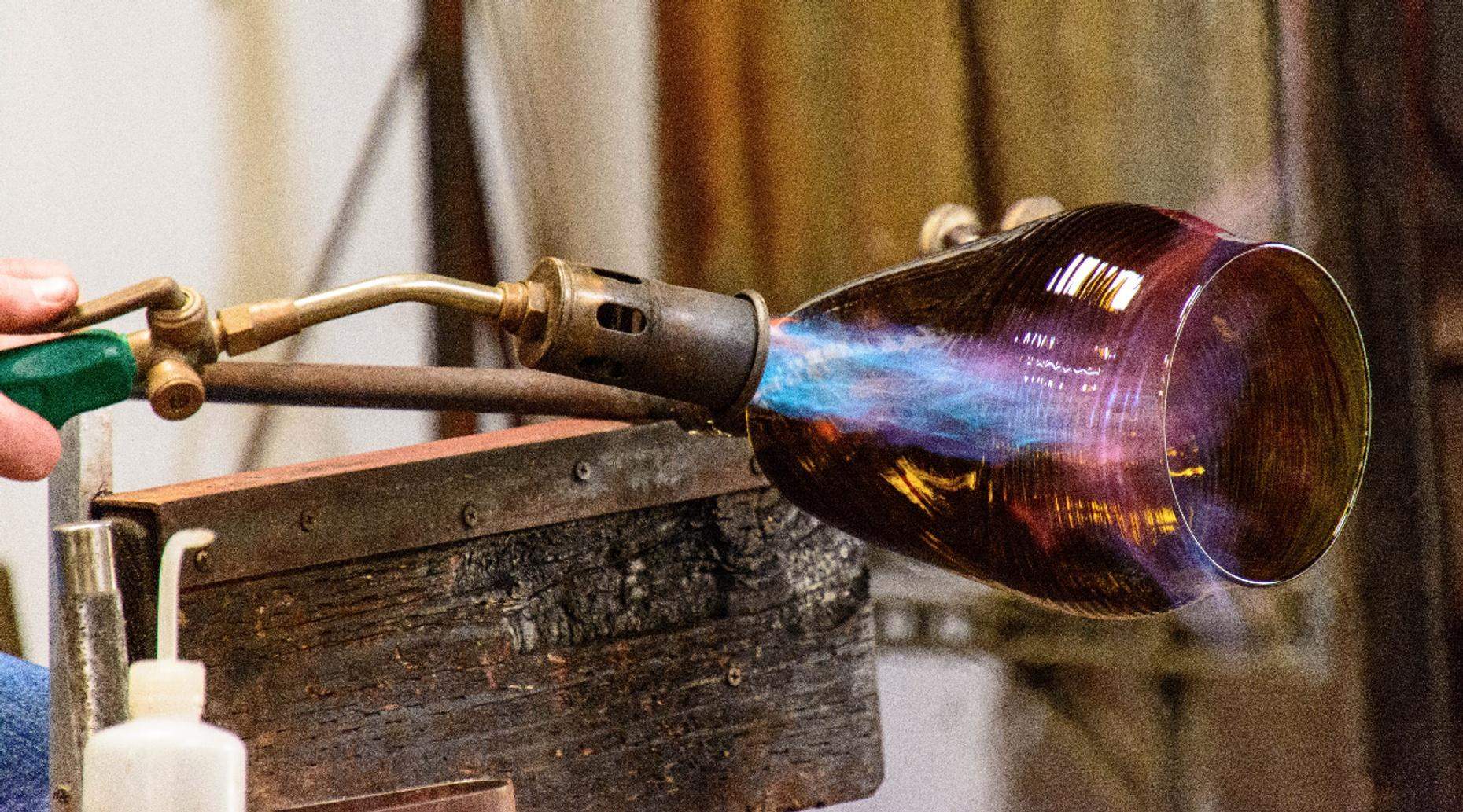 South Kingstown Glass Blowing Ornament Workshop