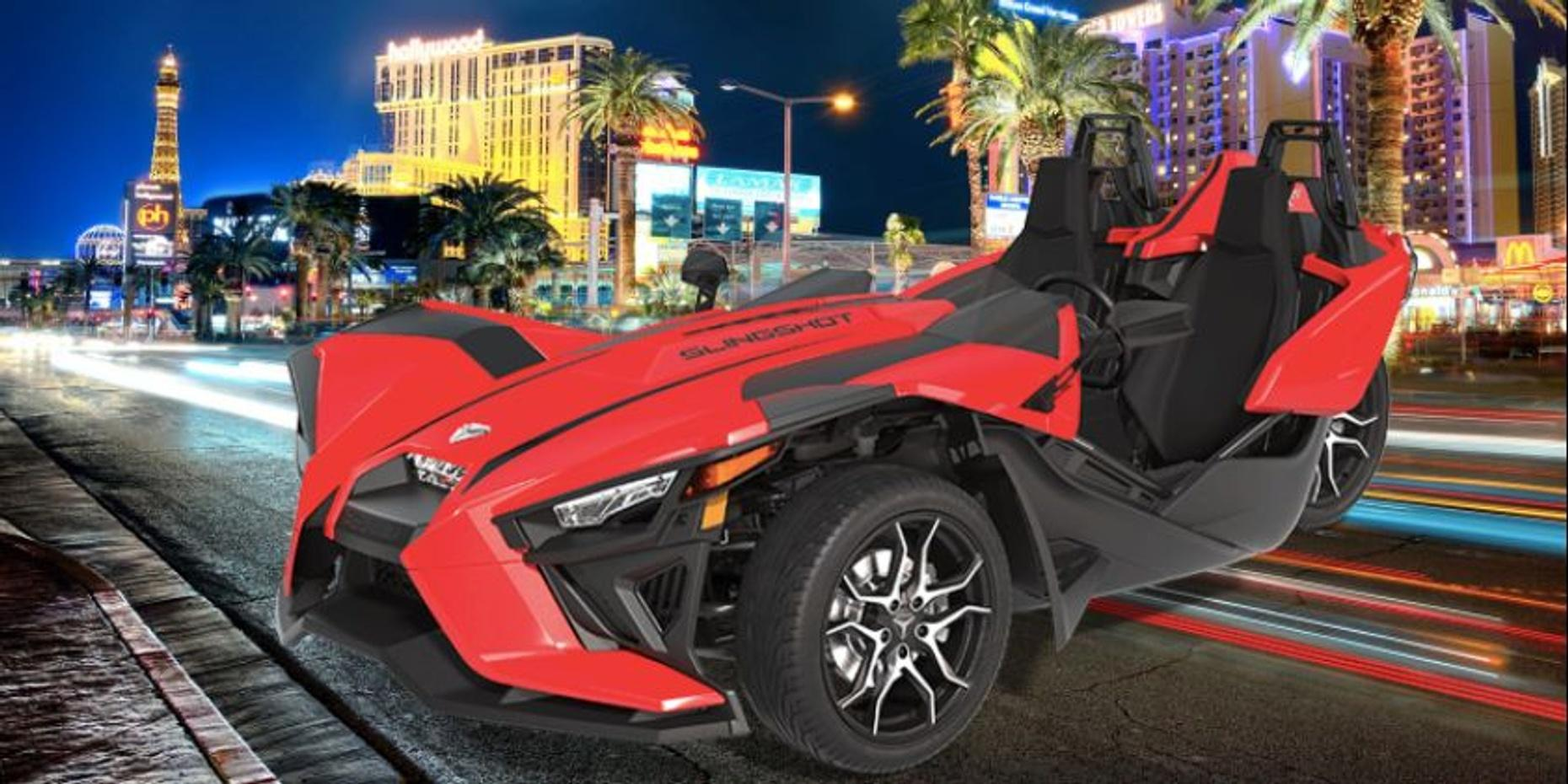 Polaris Slingshot Full-Day Rental in Las Vegas