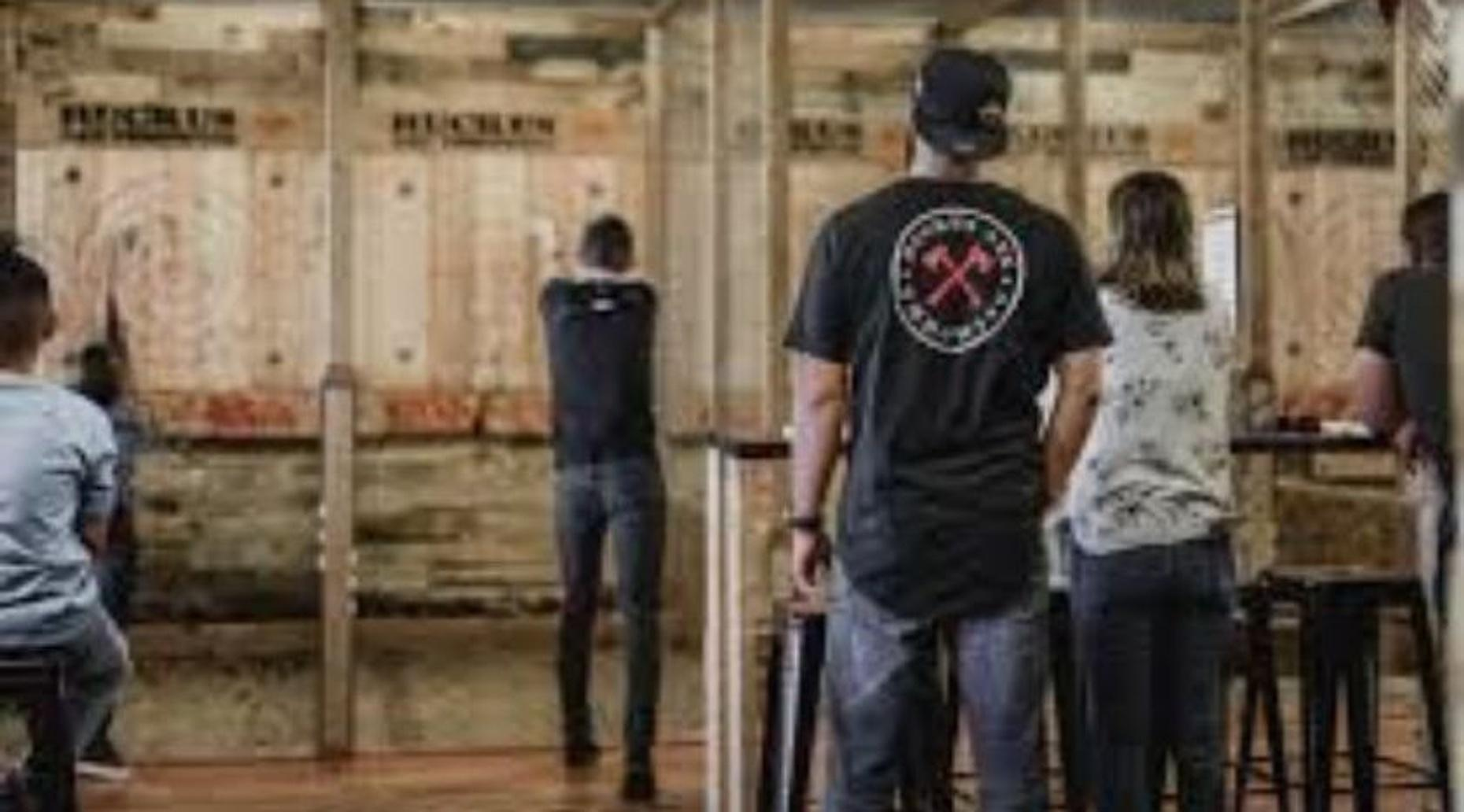 1-Hour Axe Throwing Session in Syracuse