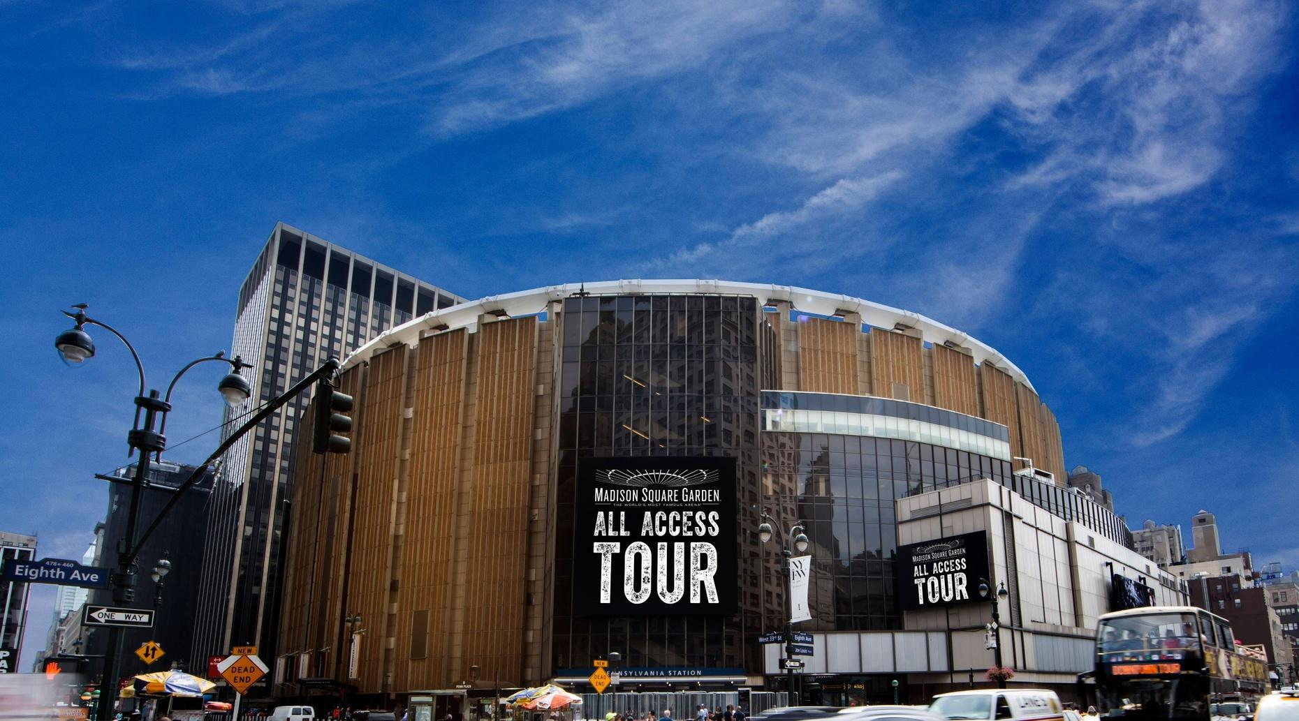 All-Access Madison Square Garden Tour in New York City
