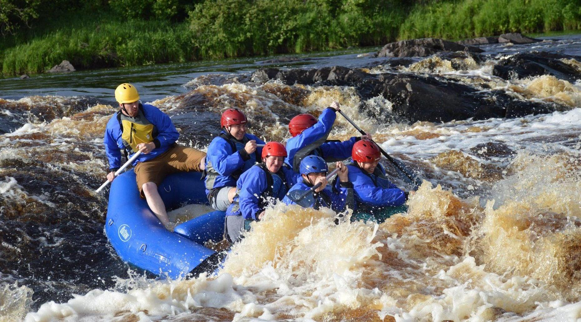 St. Louis River Whitewater Rafting