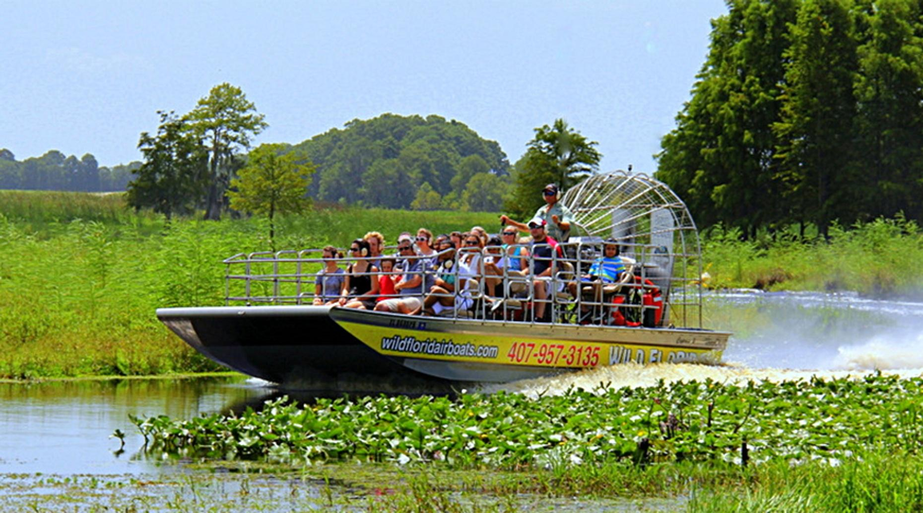 One Hour Private Lake Cypress Airboat Tour