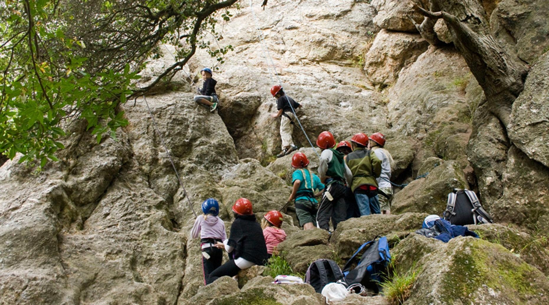 Merit Badge Climbing for Boy Scouts in Hackettstown