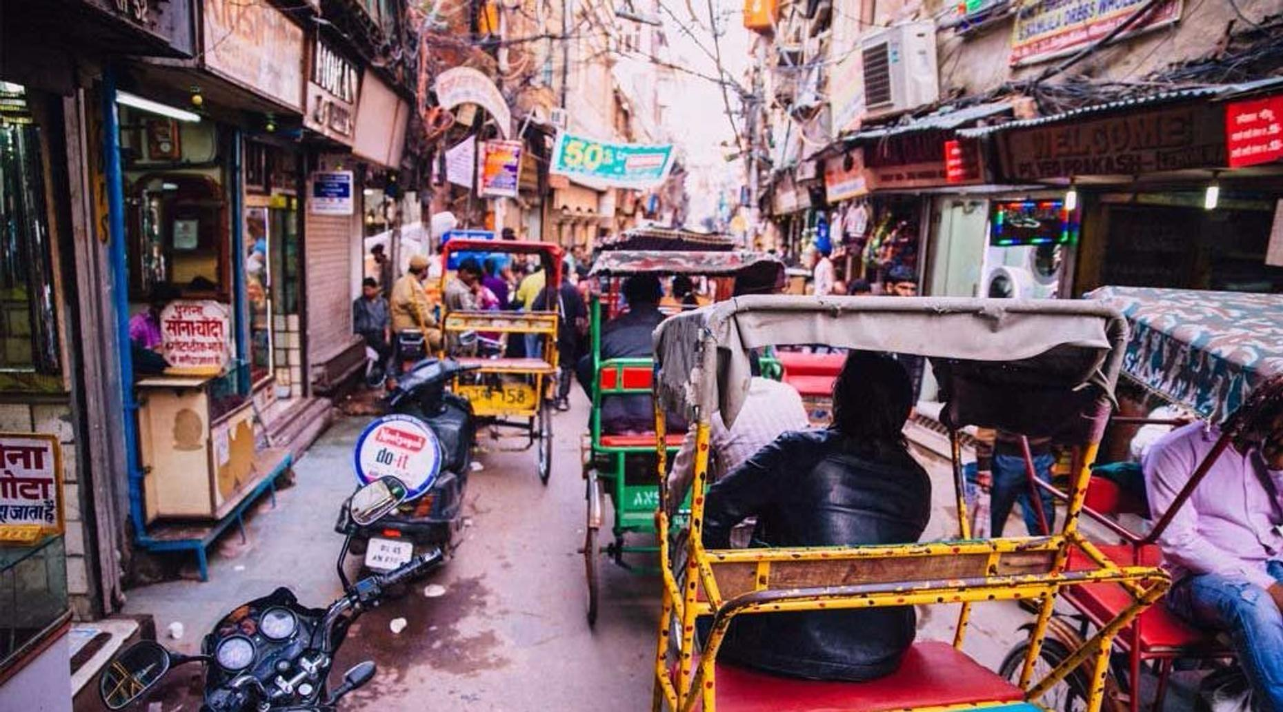 Old Delhi Heritage Rickshaw Tour