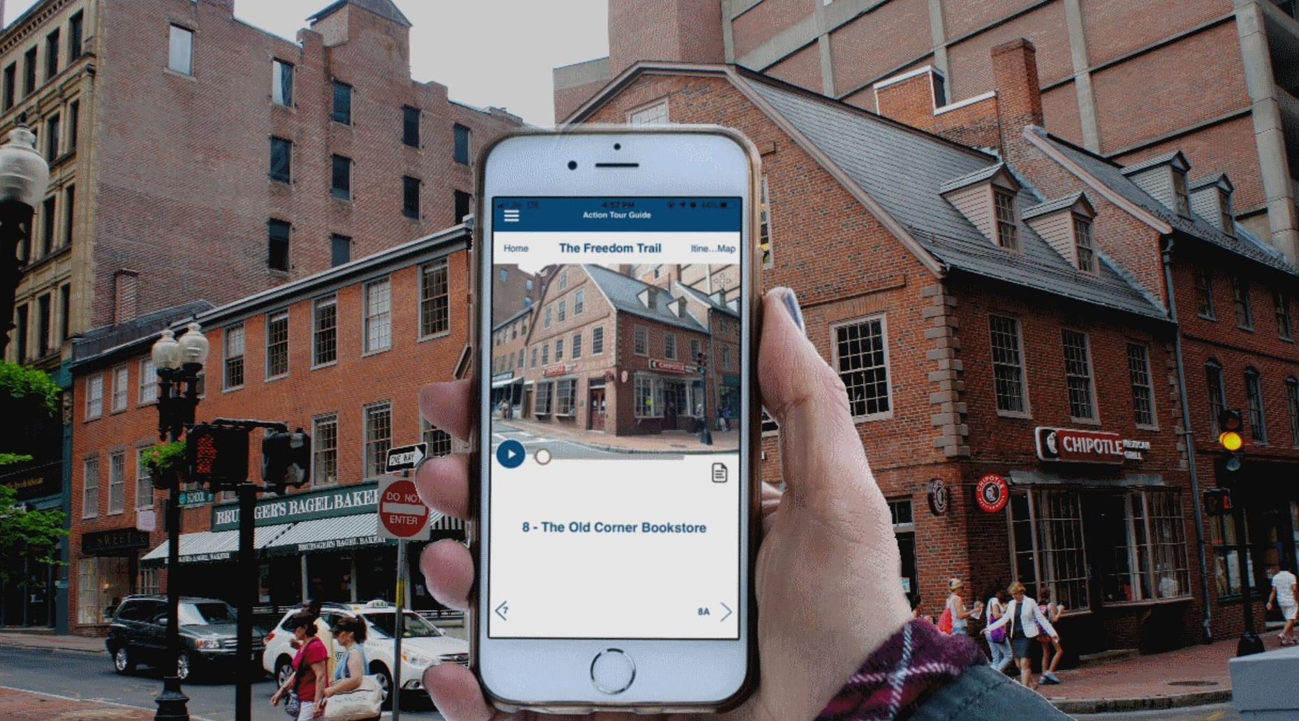 Boston's Freedom Trail Self-Guided Audio Tour