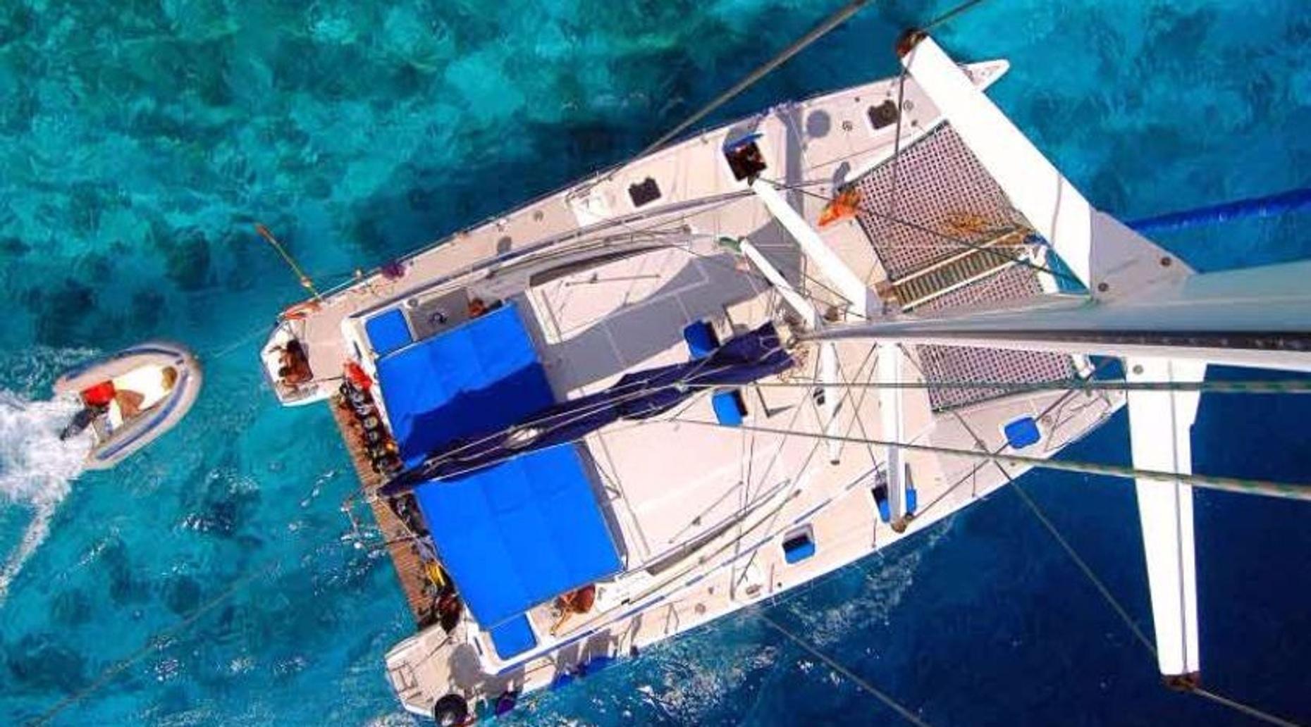Isla Mujeres Island Catamaran Tour