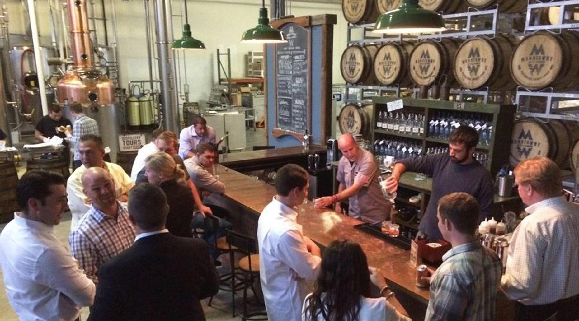 Distillery Tour in Pottstown