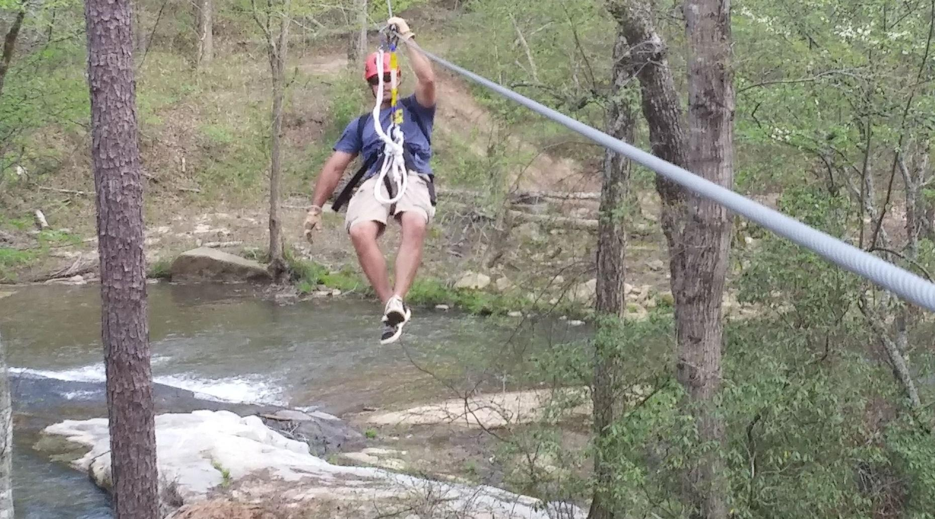 Mill Shoal Creek Zipline Adventure
