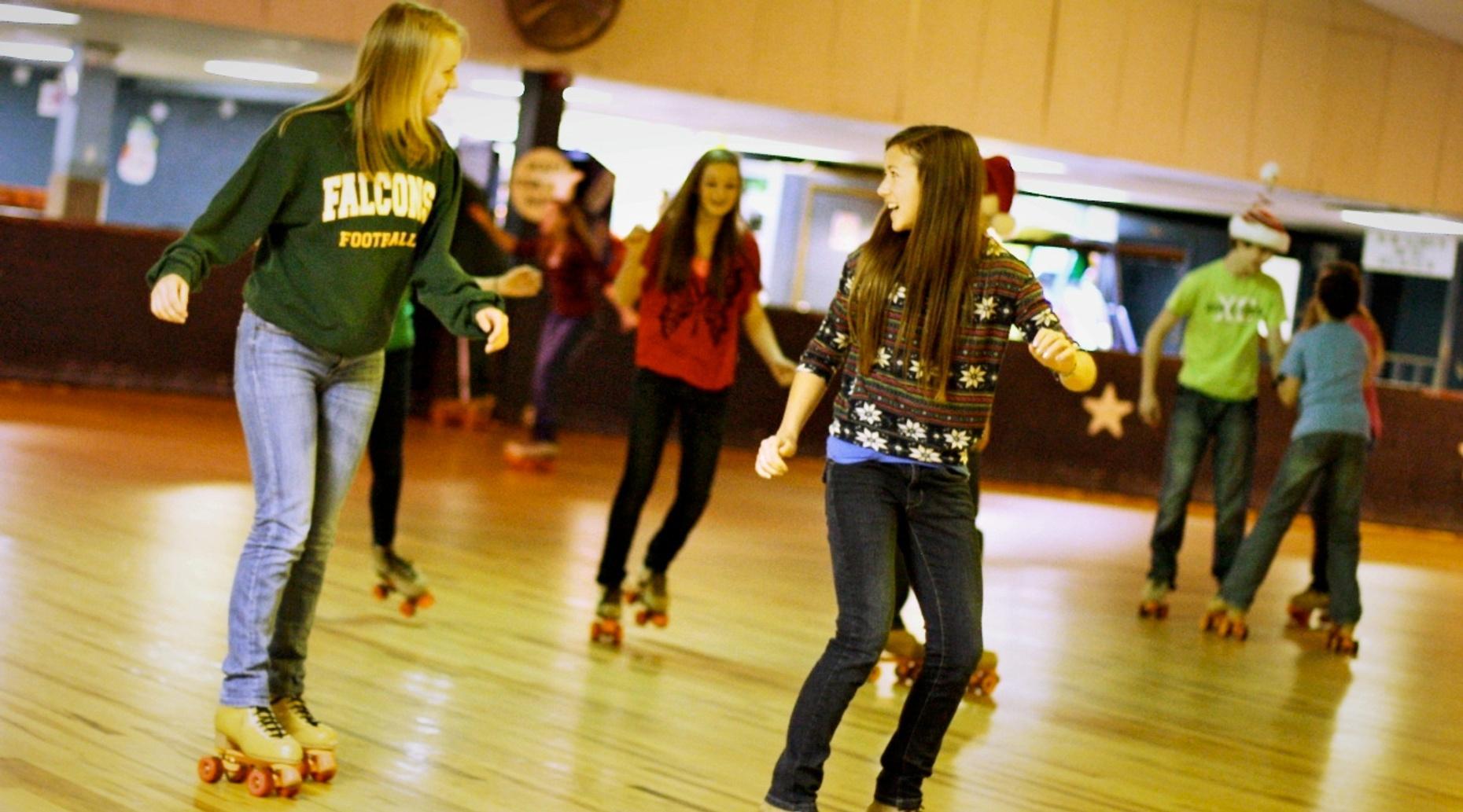 Wichita Skating Birthday Party
