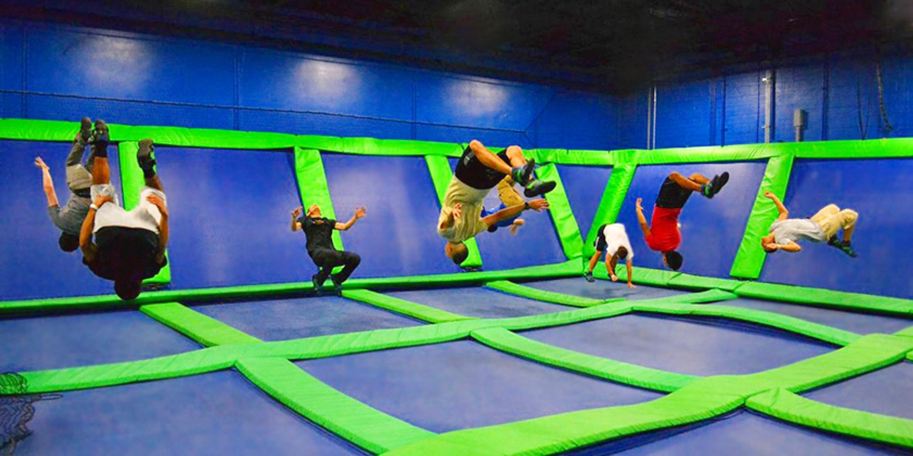 Trampoline and Indoor Games Package