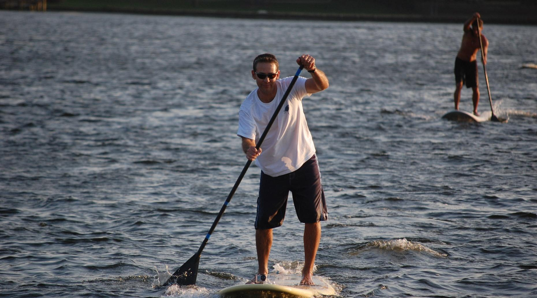 Two-Hour Stand-Up Paddleboard Rental in Napa