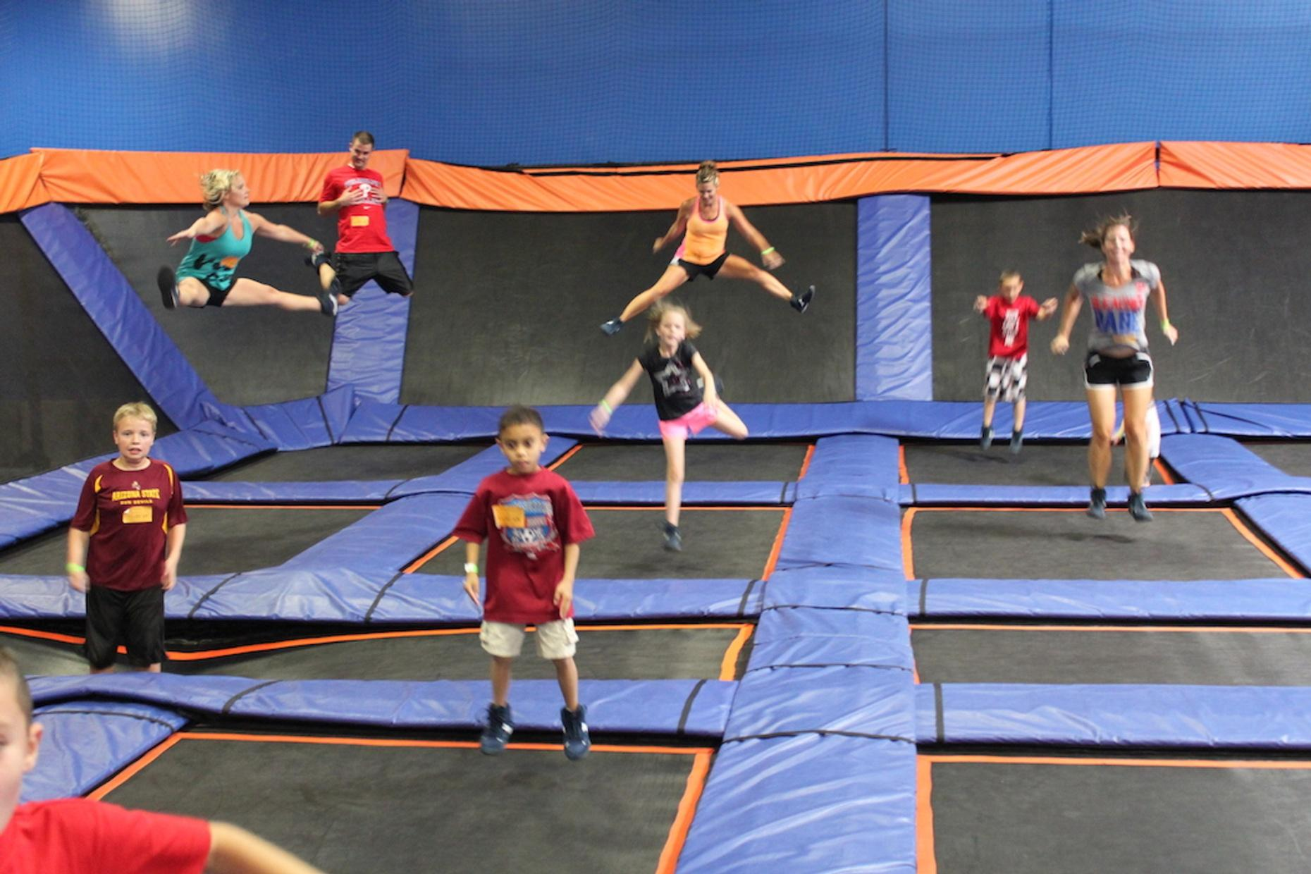 Trampoline & Ropes Party Package