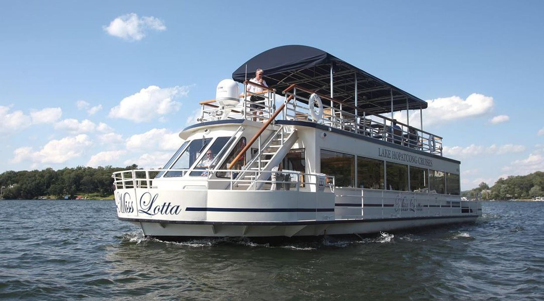 Cocktail Cruise on Lake Hopatcong