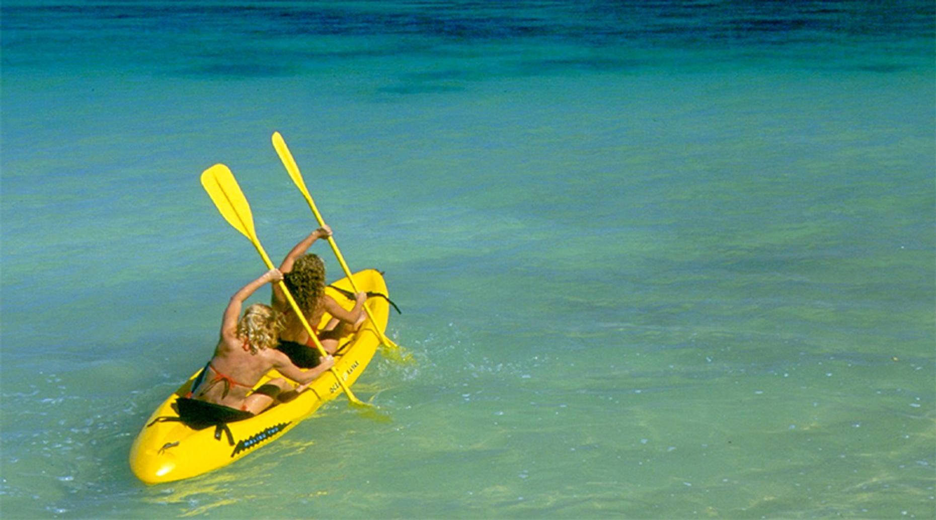 Kailua Bay Guided Kayaking Tour