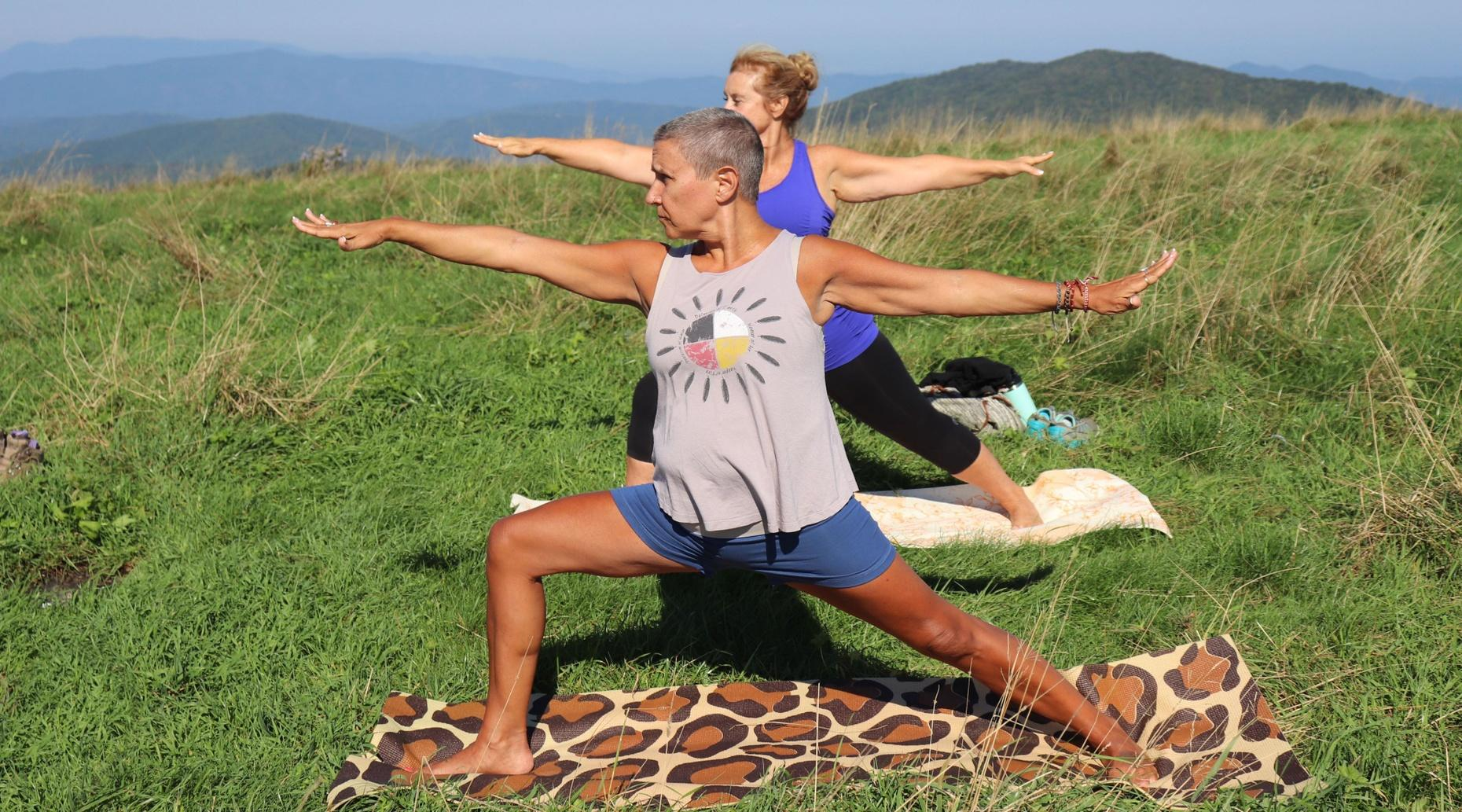 Awe-Inspiring Appalachian Trail Mountain Yoga Hike