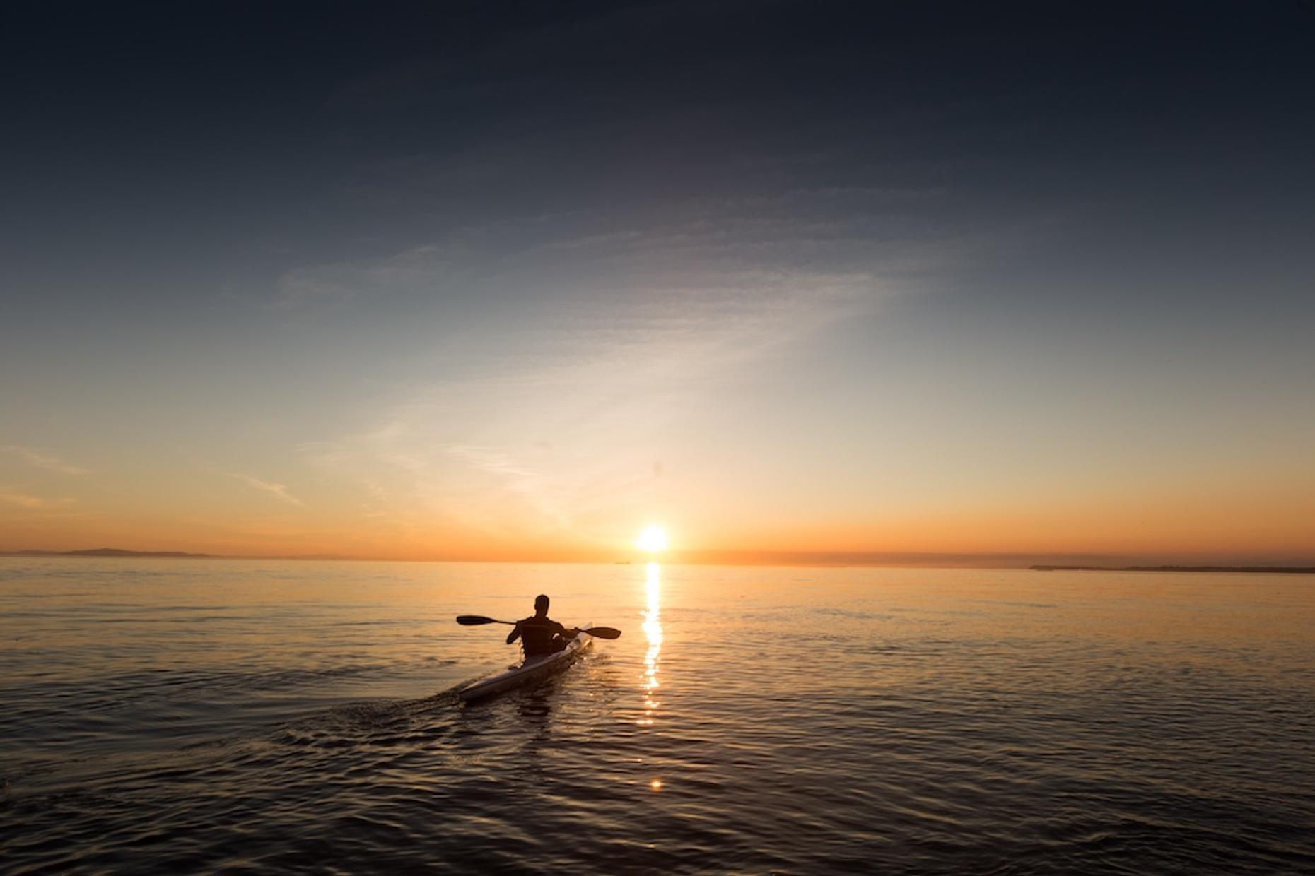 Sunset Kayaking Tour in Cape May