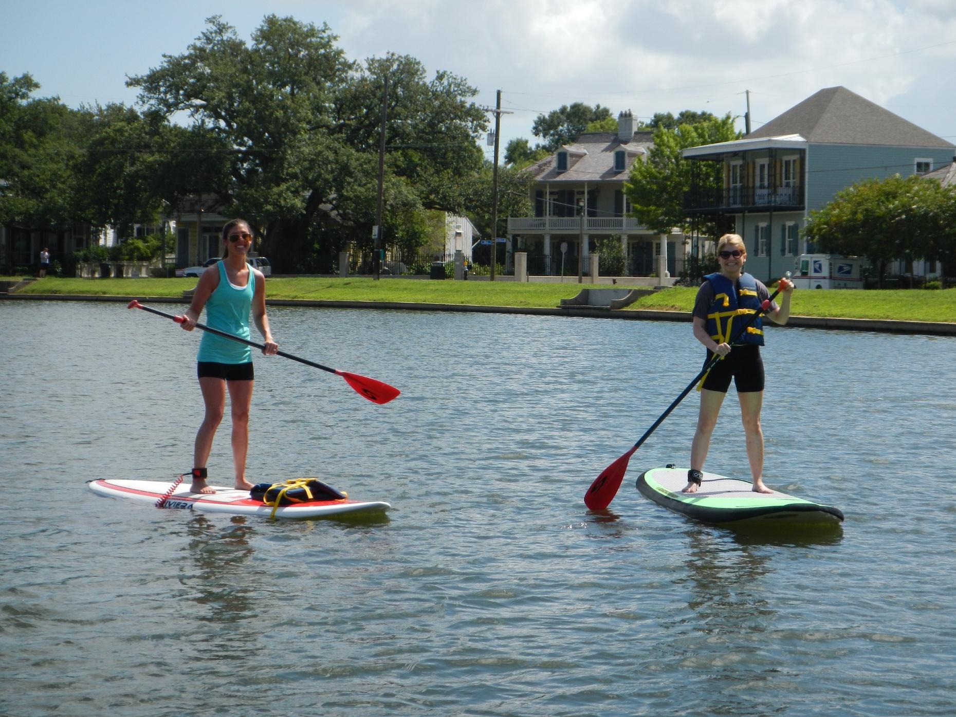 Bayou St. John Paddle Session