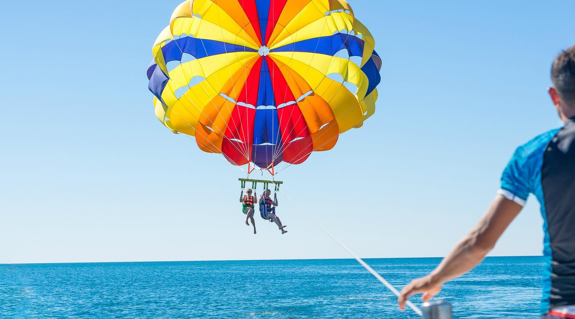 Tandem Parasailing Adventure from South Padre Island