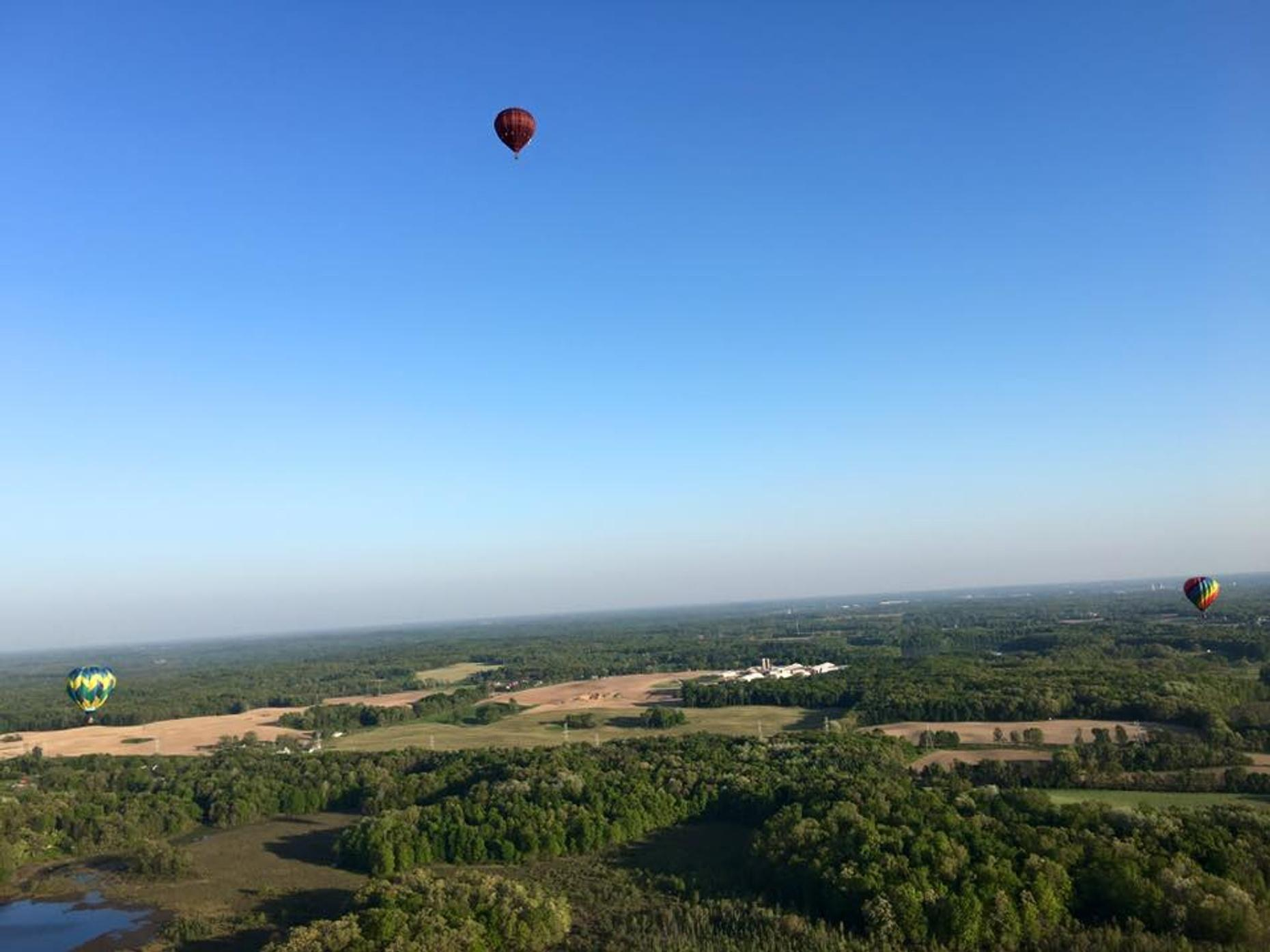 Private Hot Air Balloon Flight in Battle Creek