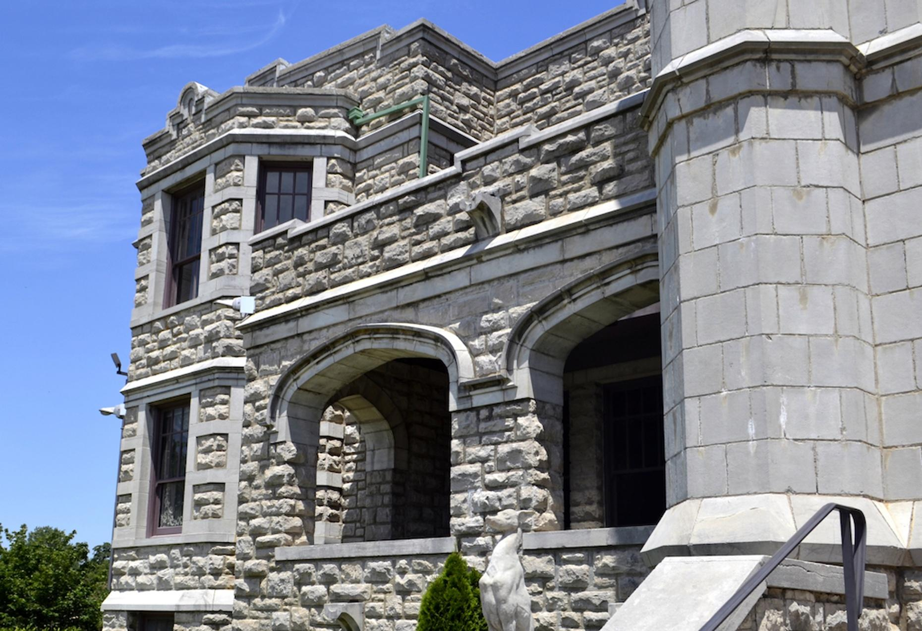 History Tour of Pythian Castle in Springfield