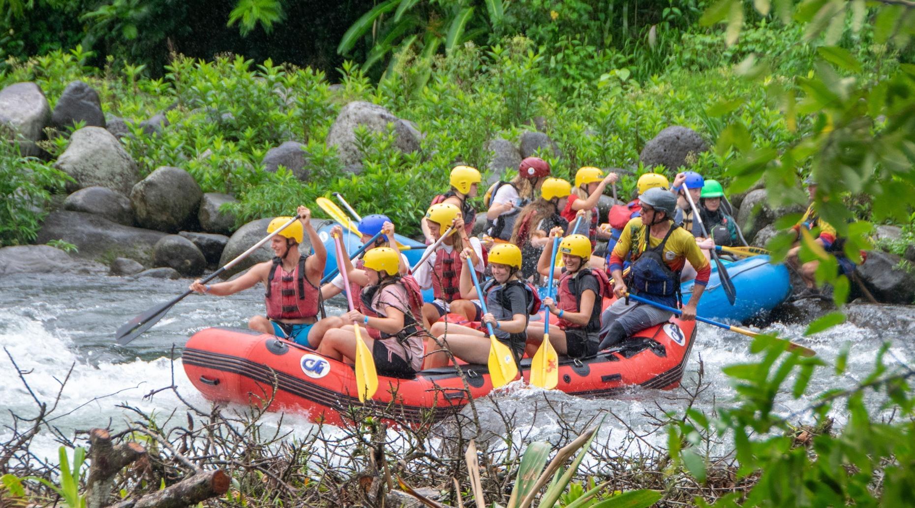 Rafting Adventure on the Sarapiqui River