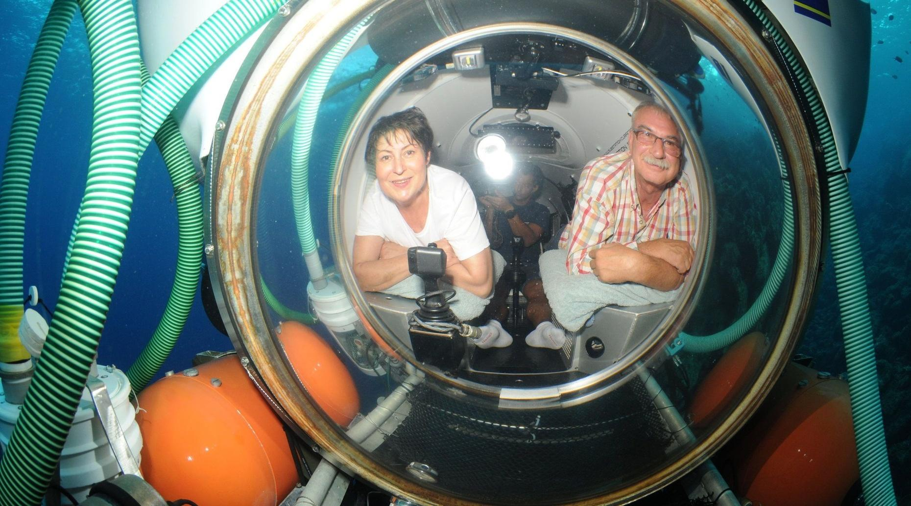 Adventure Submarine Dive Curacao