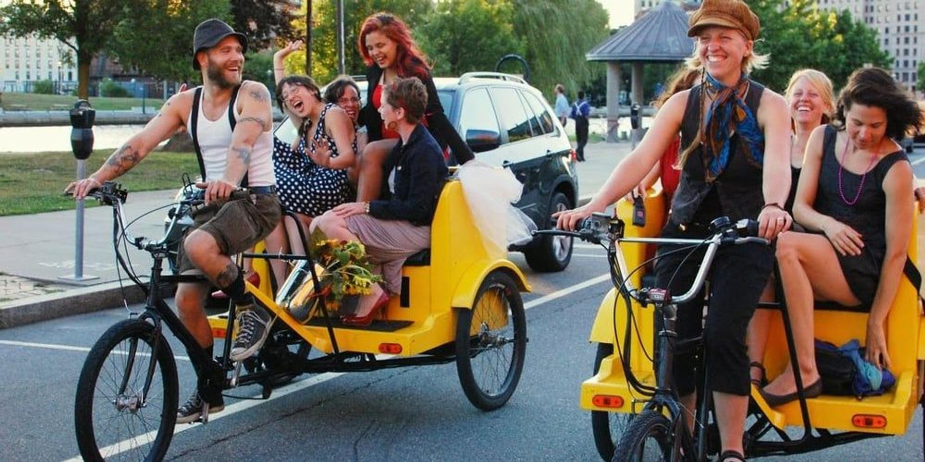 One-Hour Pedicab Tour in Providence