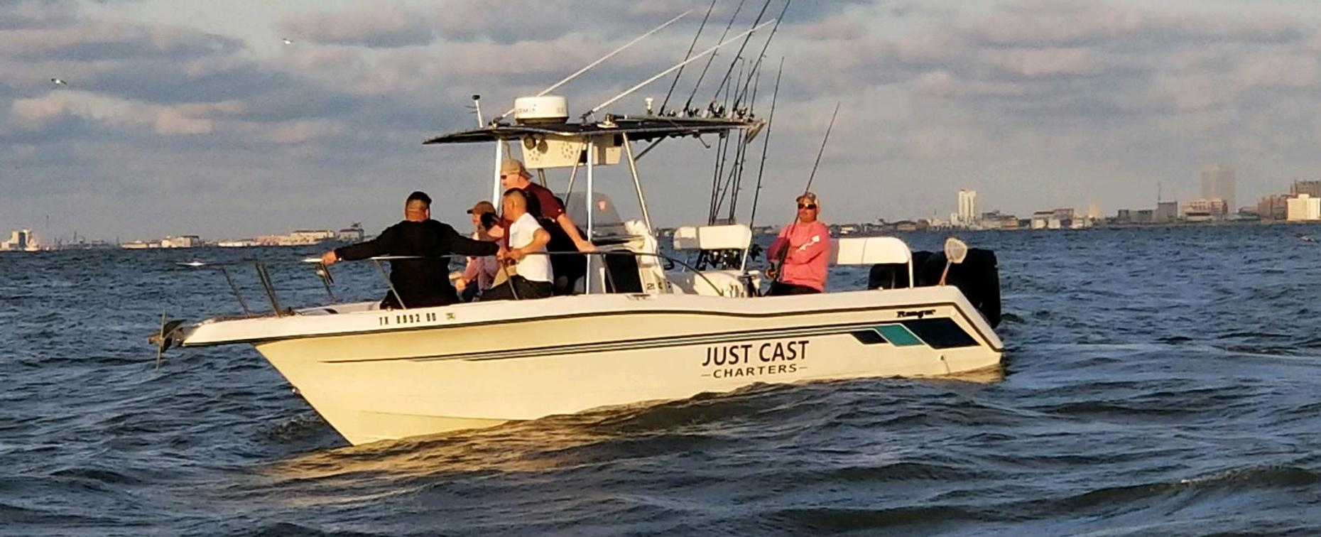 Full-Day Fishing Trip near Galveston Island