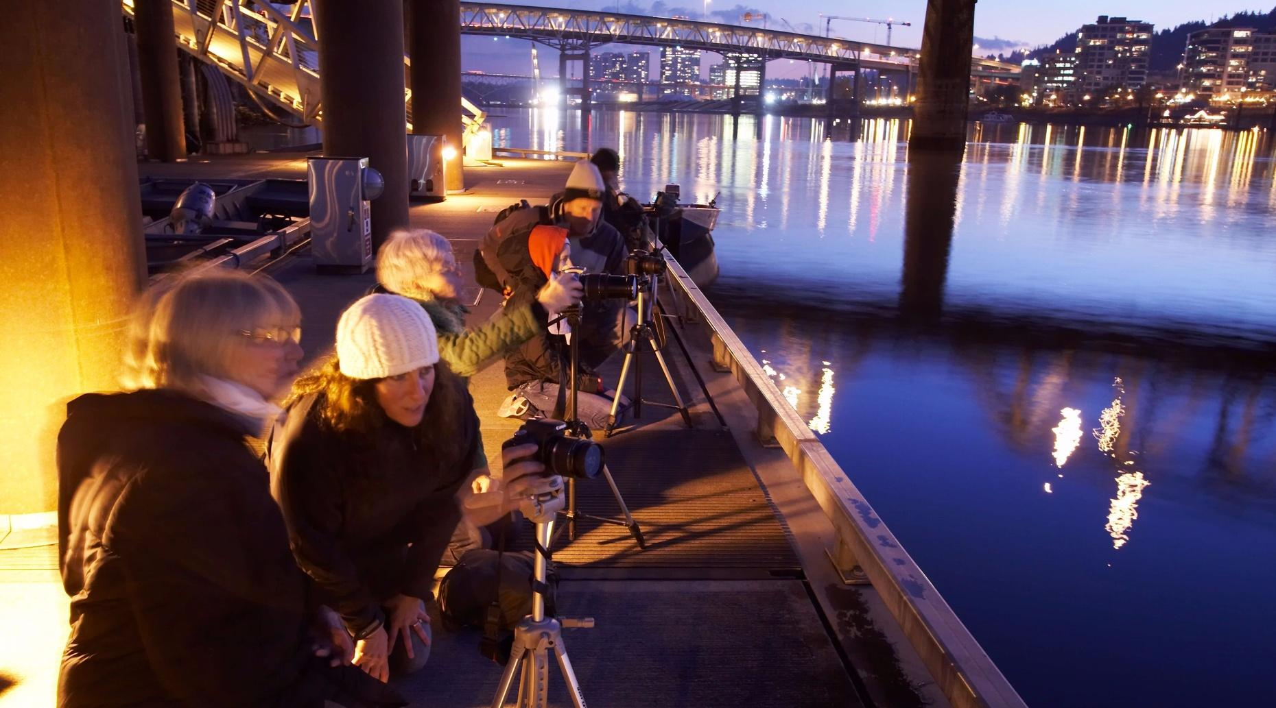 Portland Skyline & Bridges Night Photo Tour