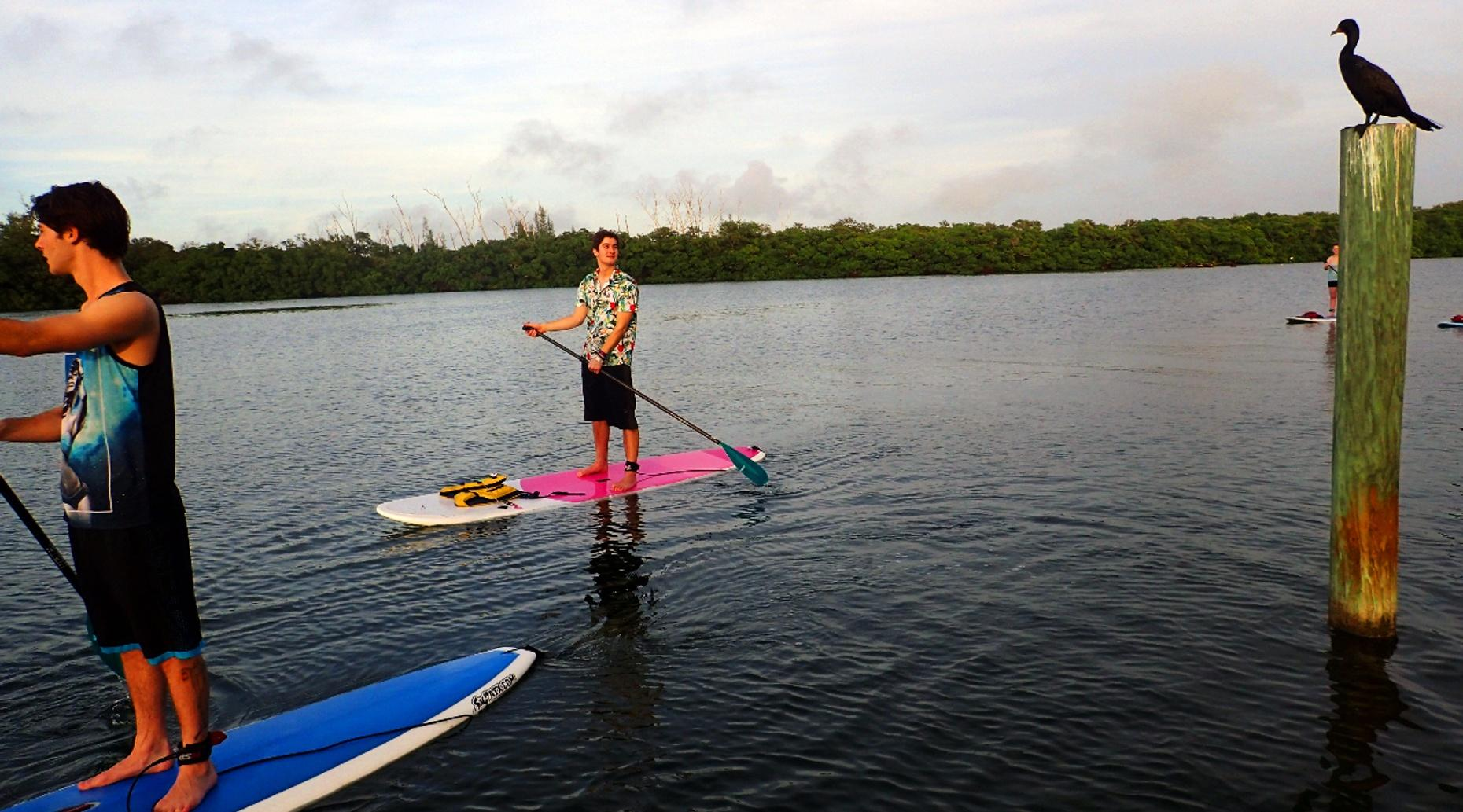 Stand-Up Paddleboard Yoga Class in Lakewood