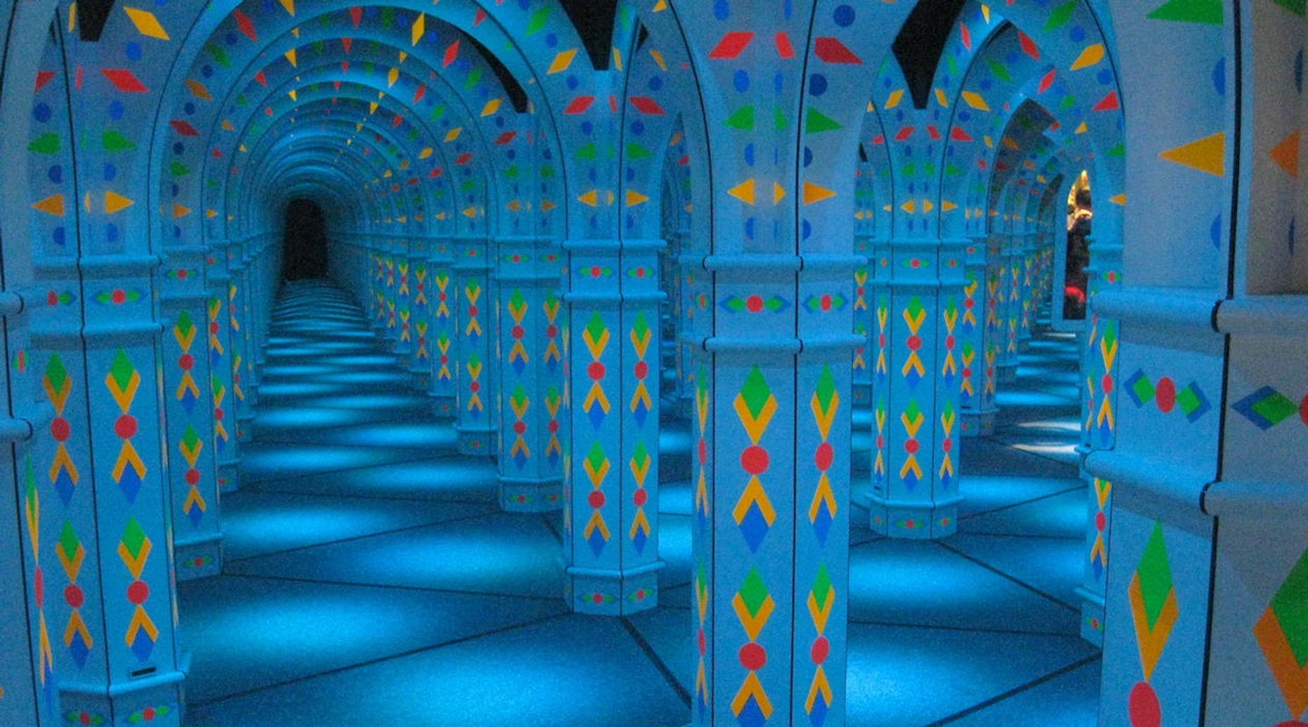 Magowan's Infinite Mirror Maze in San Francisco