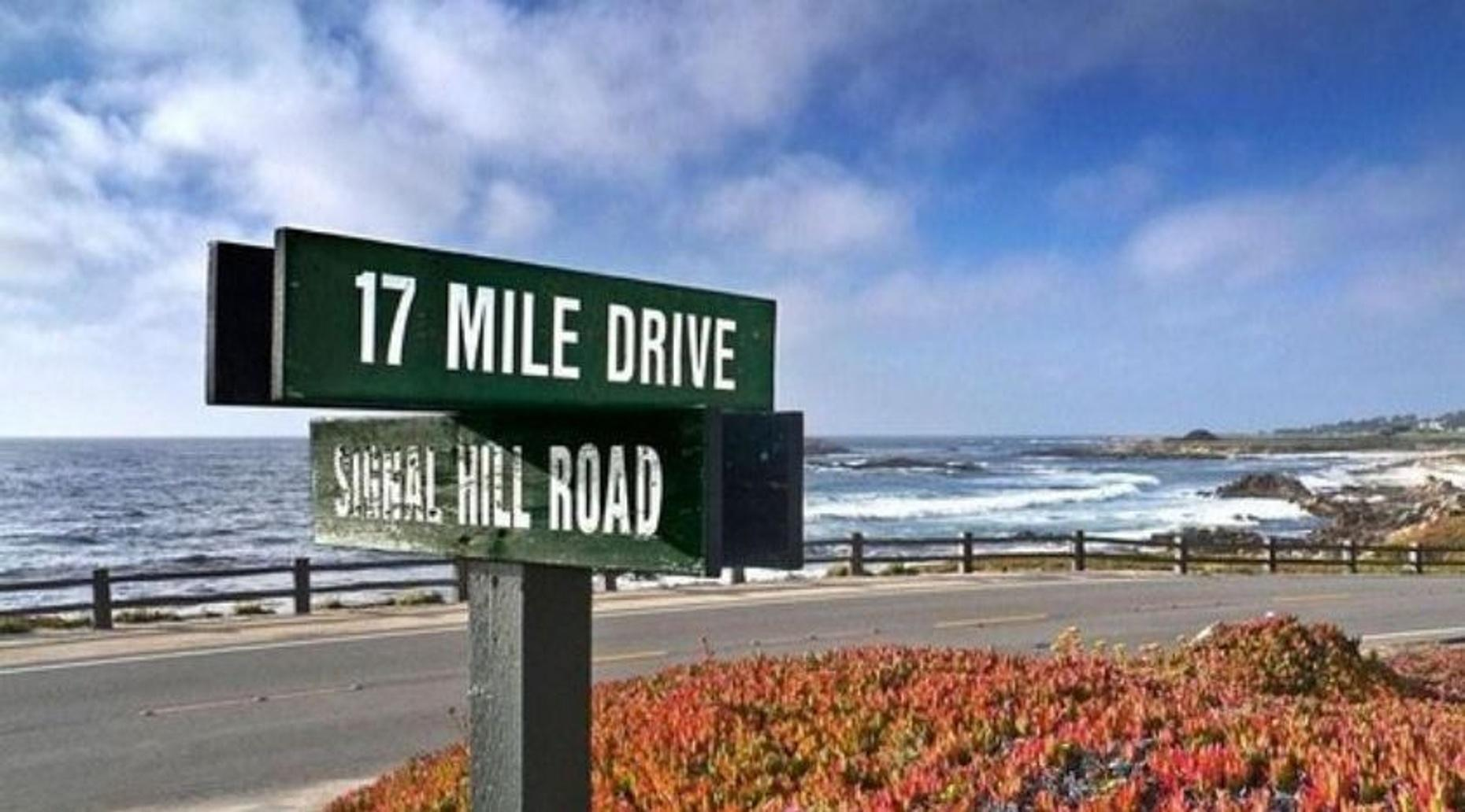 Self-Guided 17-Mile Drive Driving Tour