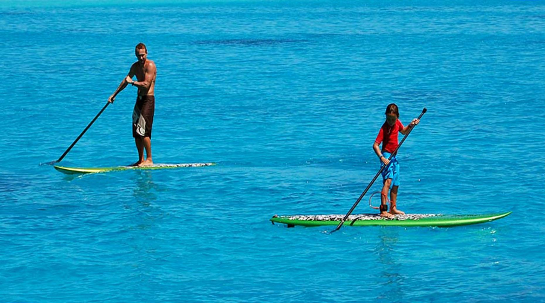 Cabo Stand Up Paddleboarding to the Arch