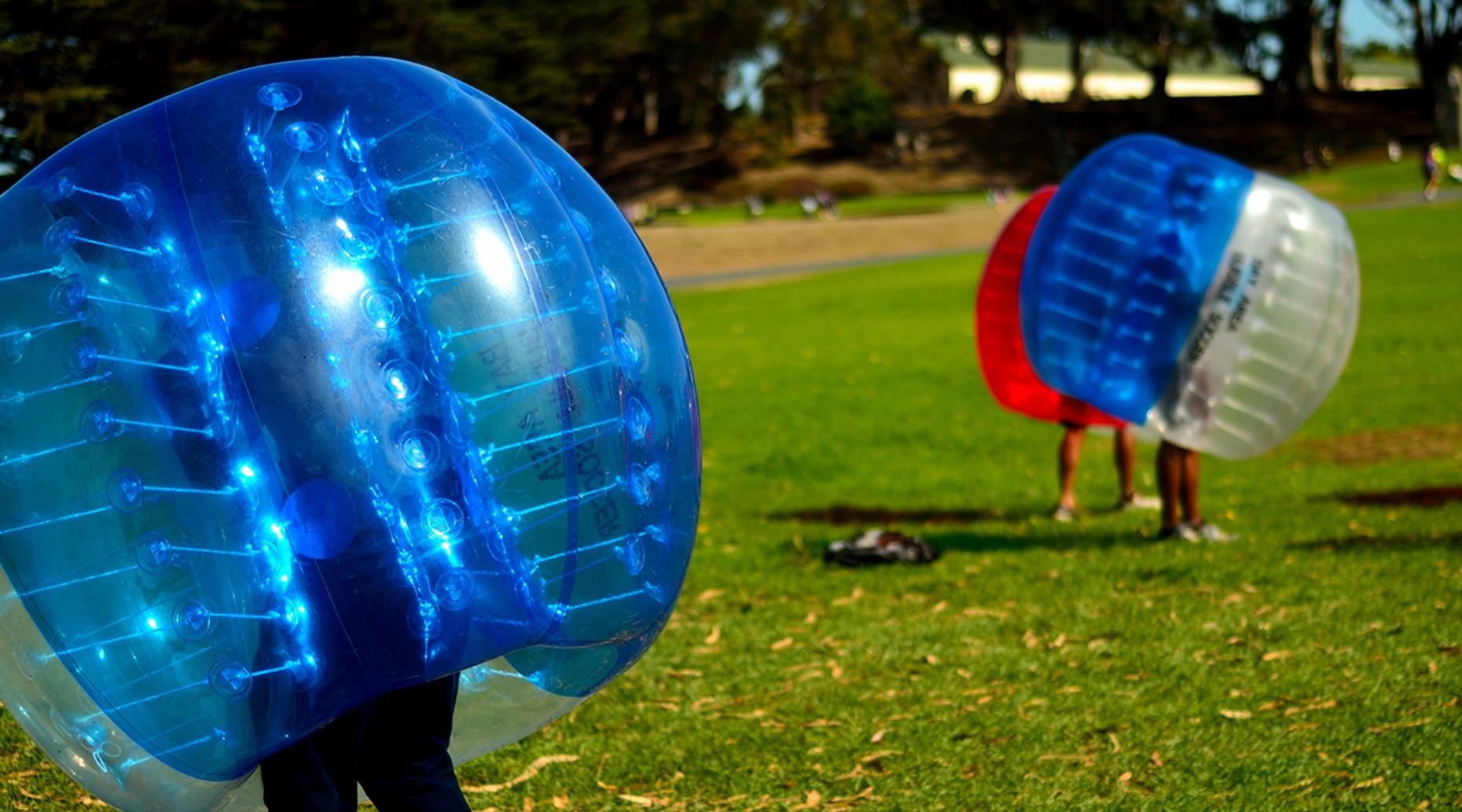 One-Hour Bubble Soccer Game in Richmond