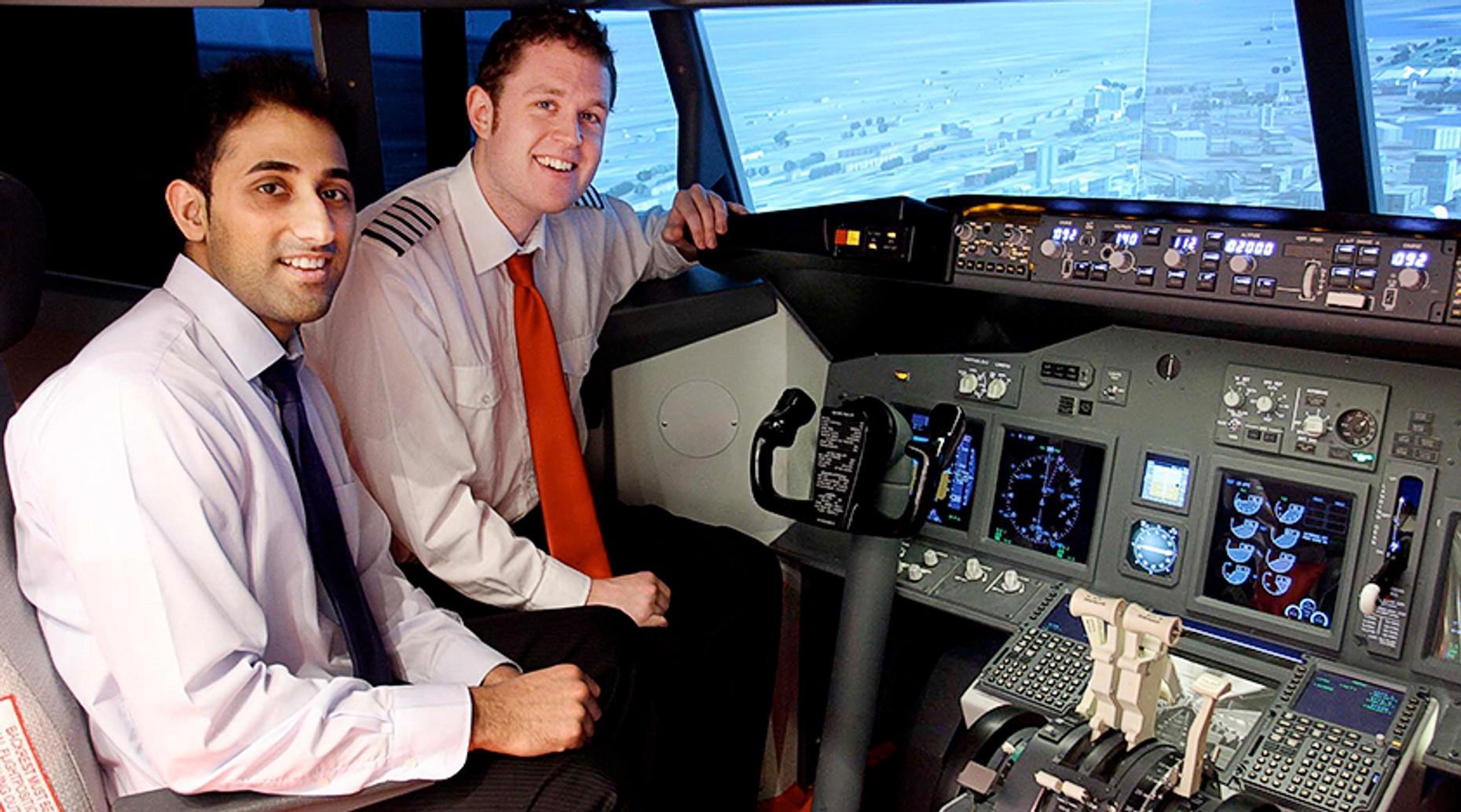 London One Hour Flight Simulator Lesson