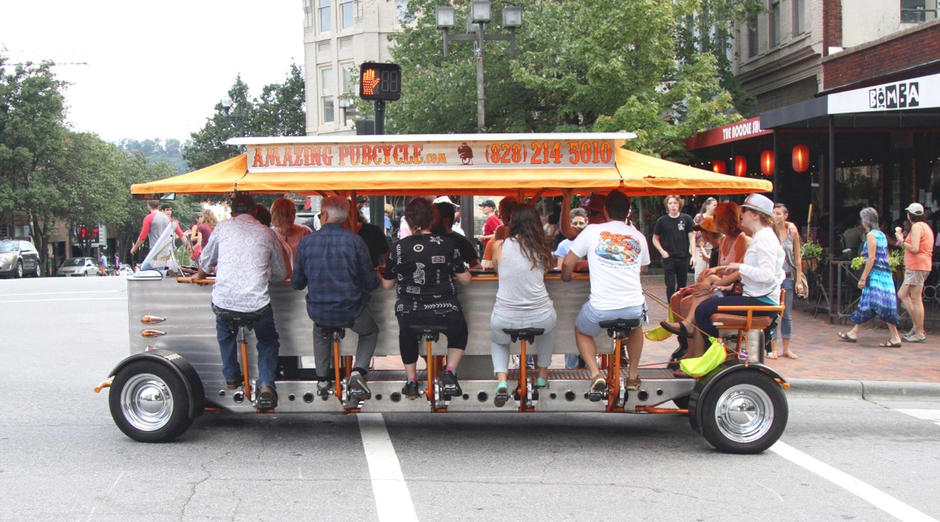 Pub Crawl Pedal Bike in Orlando